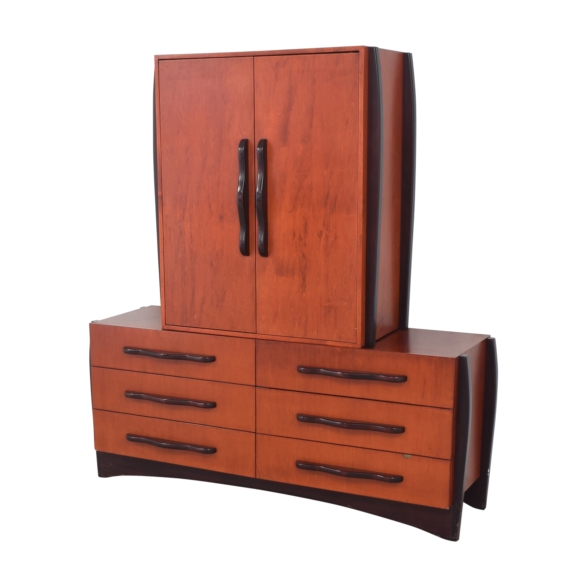 shop Dialogica Dialogica Malindi Double Dresser with Media Cabinet  online