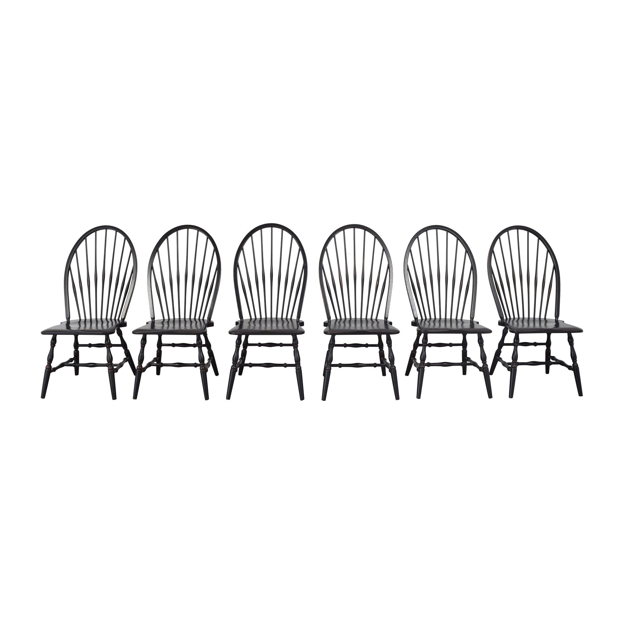 shop Country Willow Windsor Dining Chairs Country Willow Dining Chairs