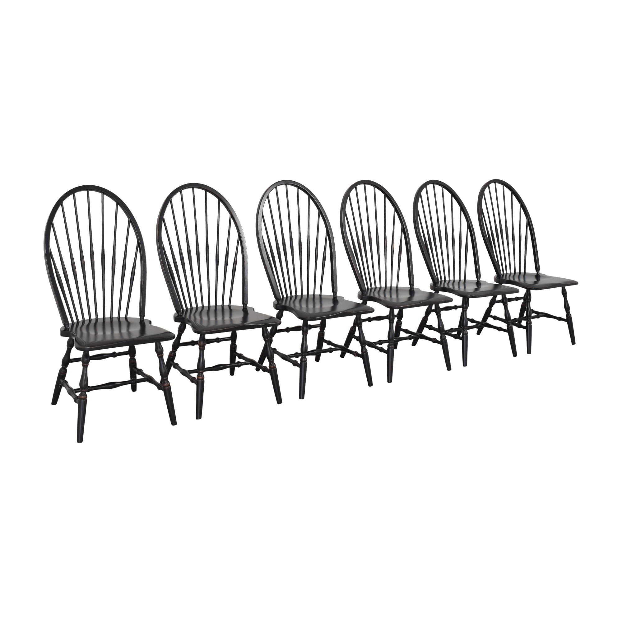 Country Willow Country Willow Windsor Dining Chairs ma