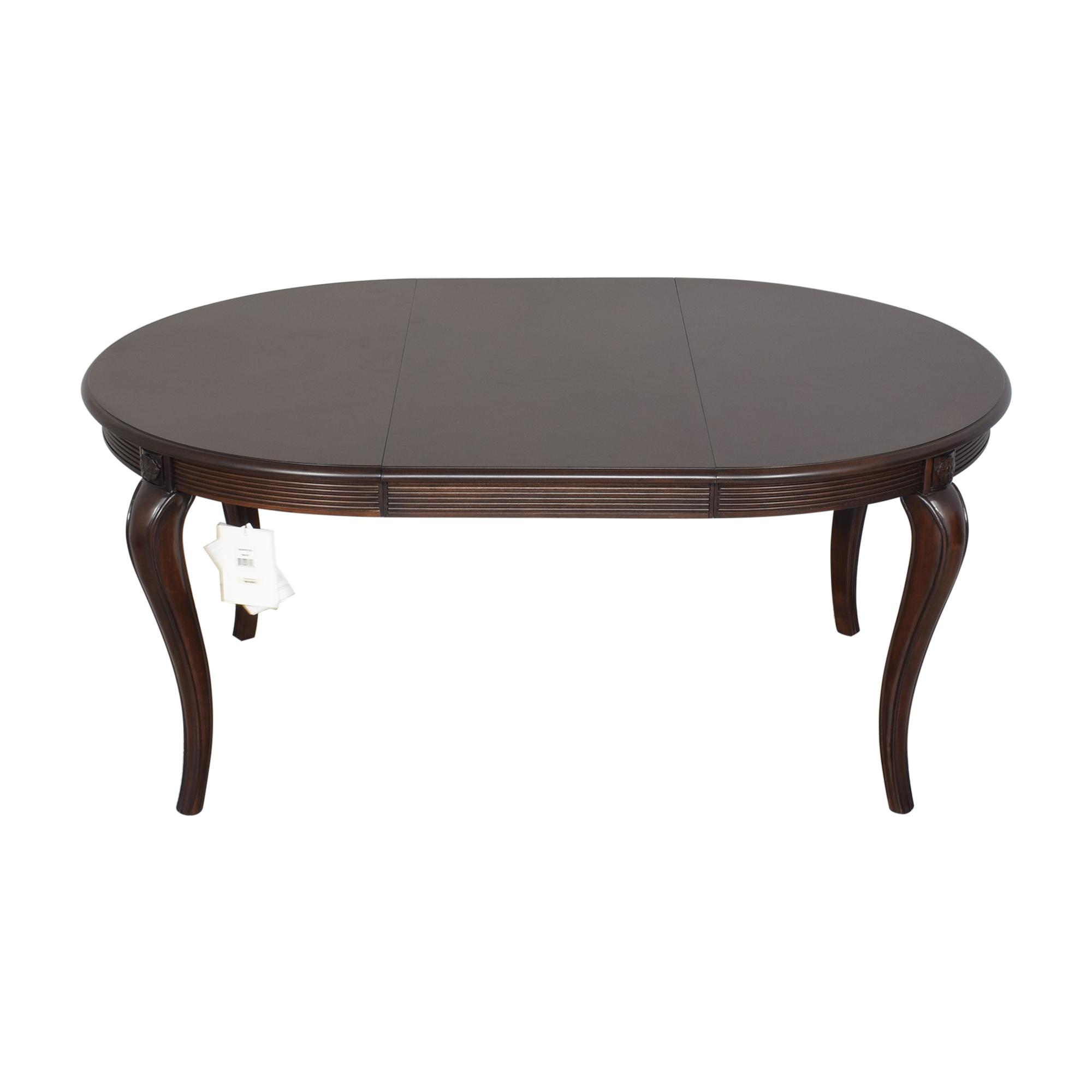 Bernhardt Bernhardt Round Extendable Dining Table ma