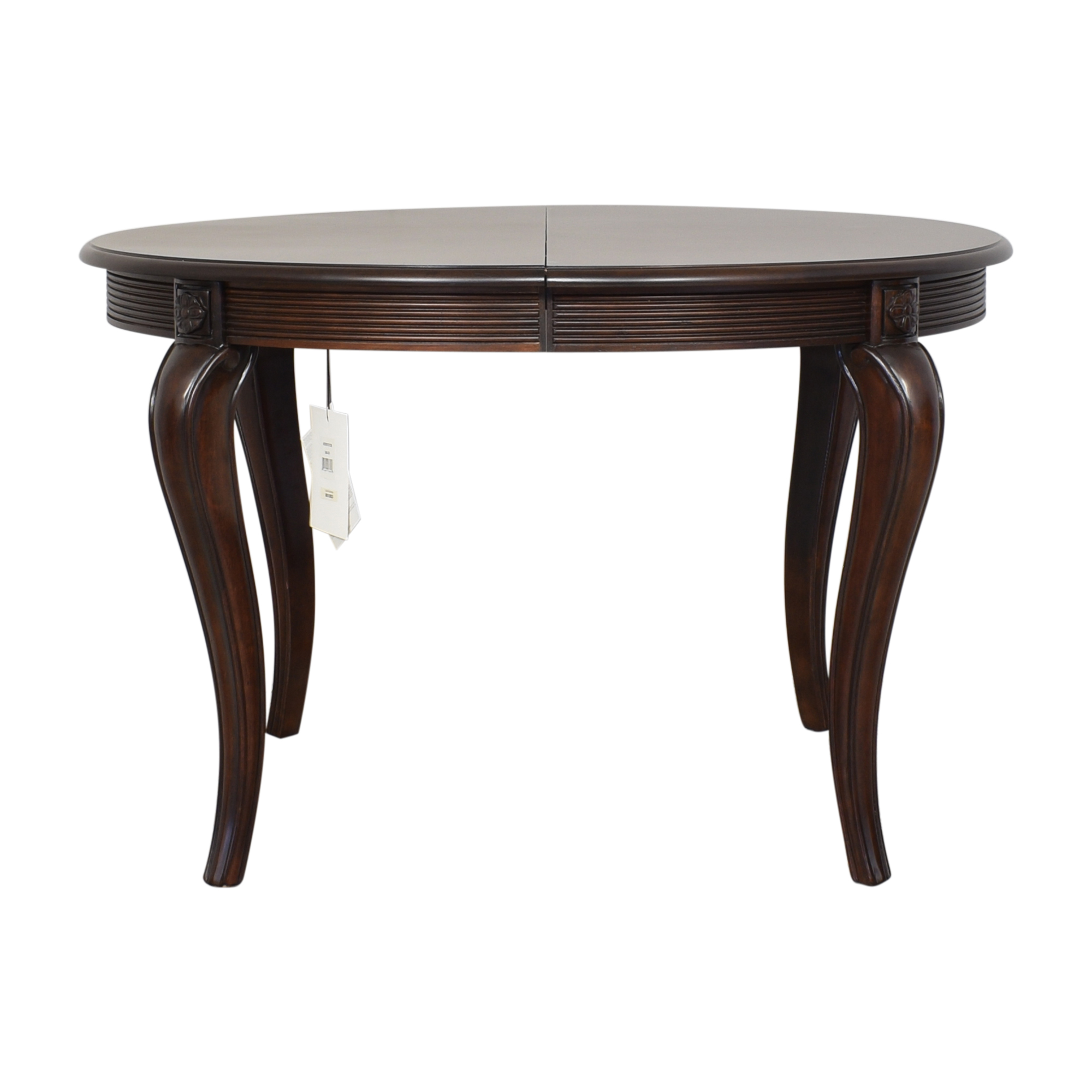 Bernhardt Bernhardt Round Extendable Dining Table second hand
