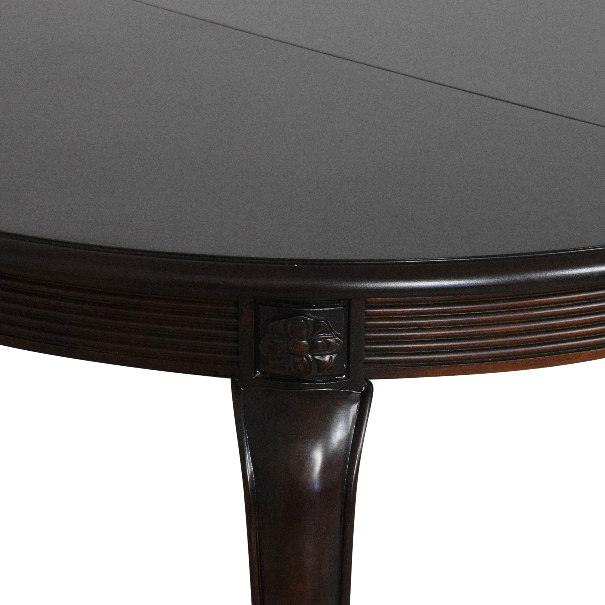 buy Bernhardt Round Extendable Dining Table Bernhardt Tables