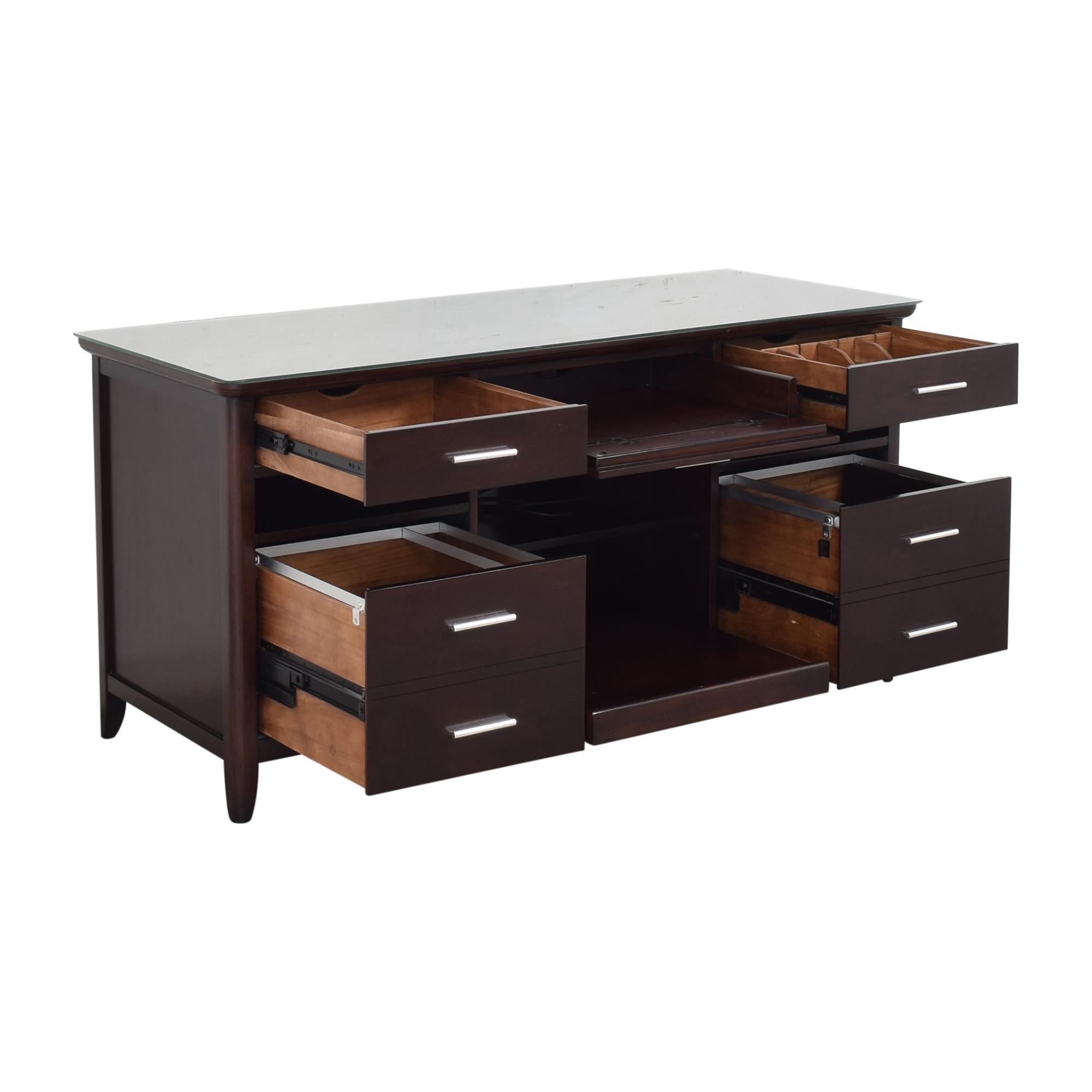 shop Hooker Furniture Office Credenza Hooker Furniture Cabinets & Sideboards
