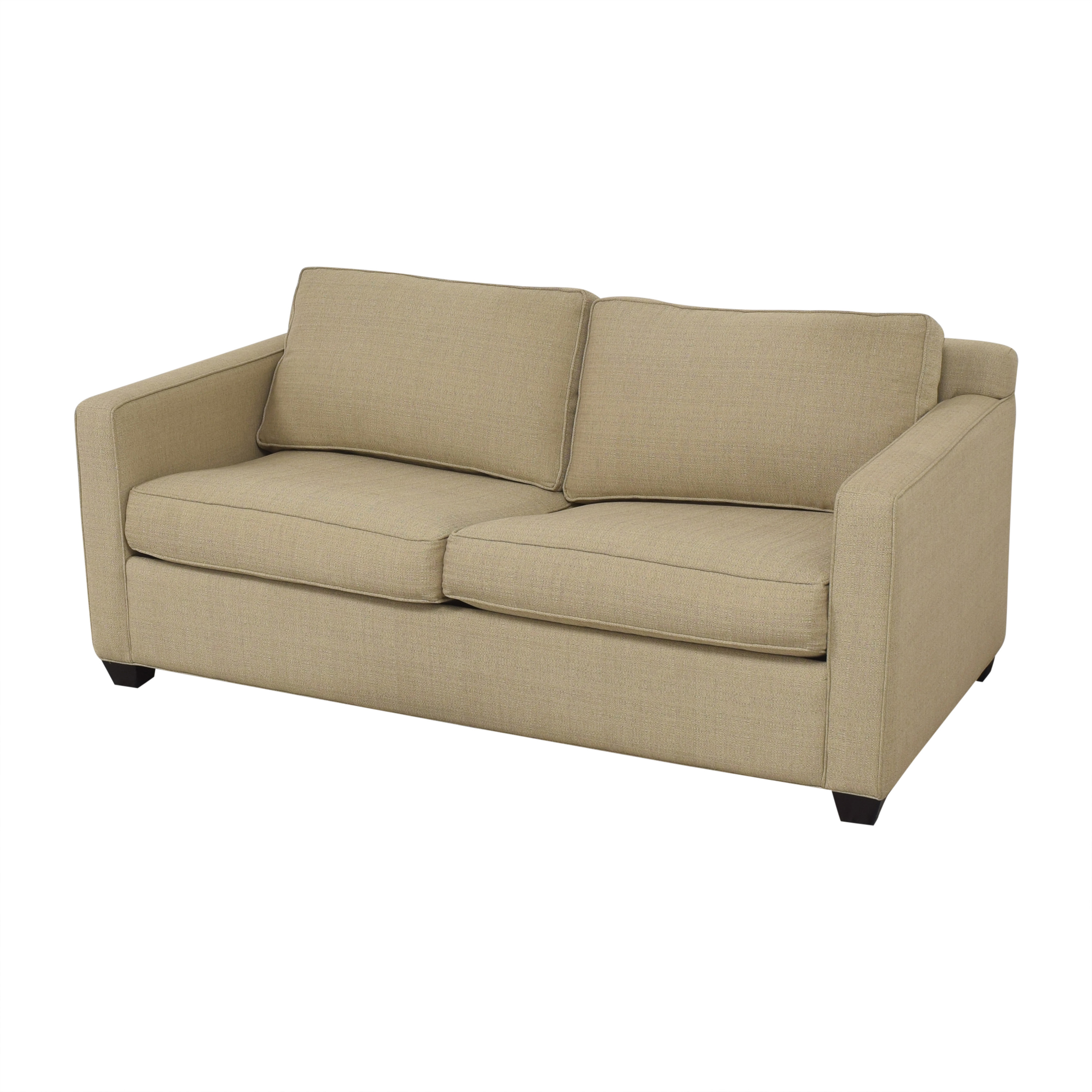 buy Younger Furniture Two Cushion Sleeper Sofa Younger Furniture Sofas