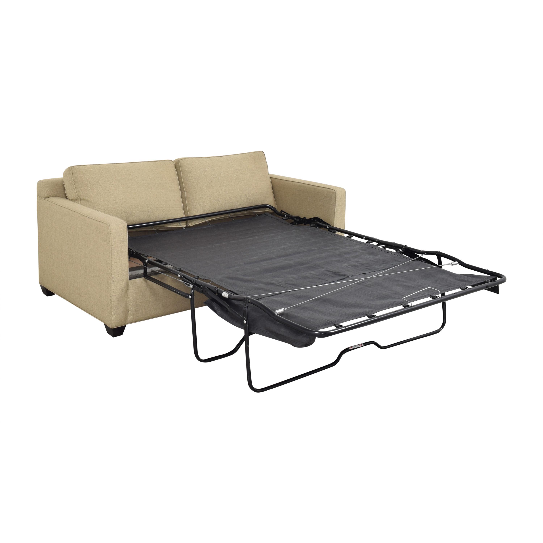 Younger Furniture Two Cushion Sleeper Sofa sale