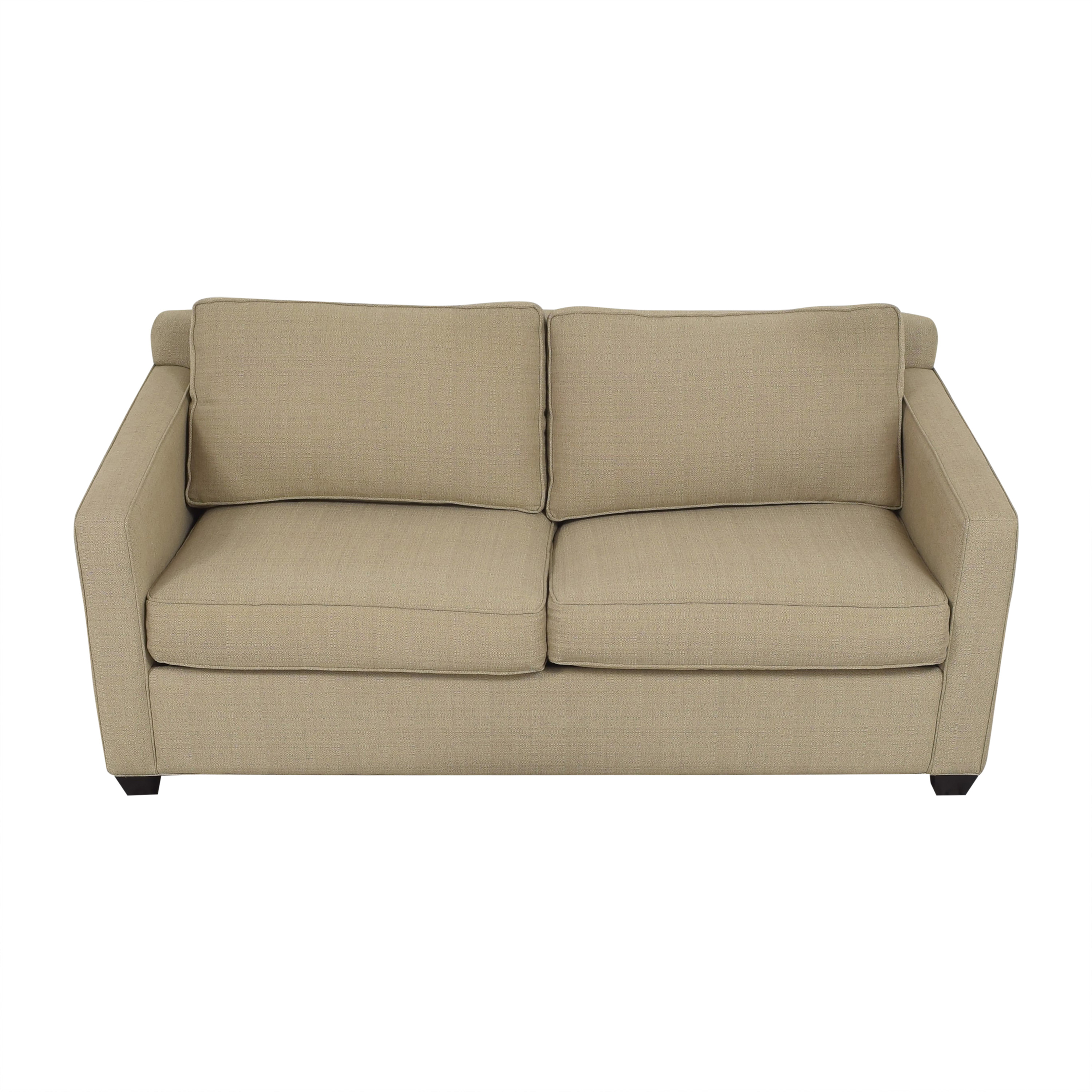 Younger Furniture Two Cushion Sleeper Sofa Younger Furniture