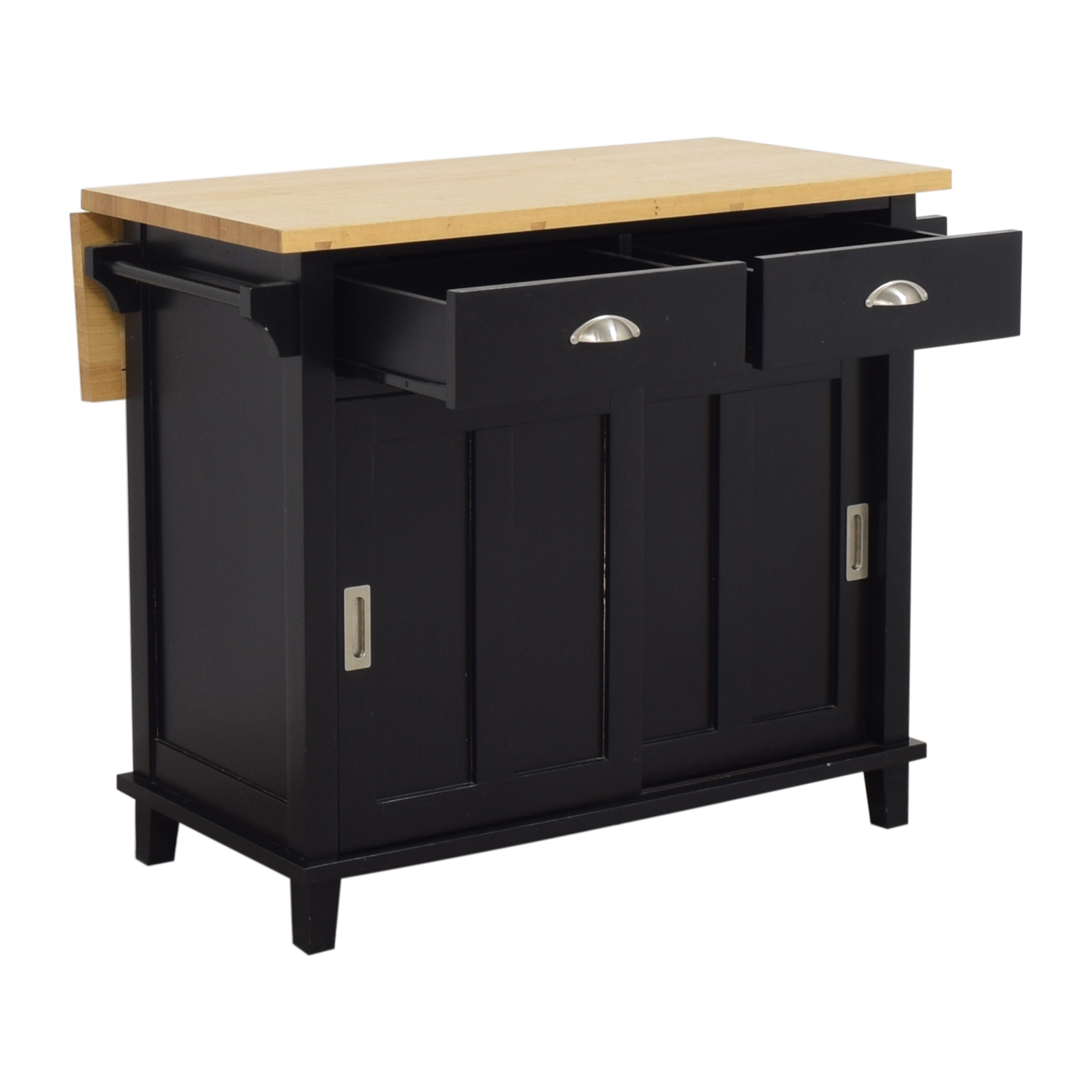 buy Crate & Barrel Belmont Kitchen Island Crate & Barrel Utility Tables