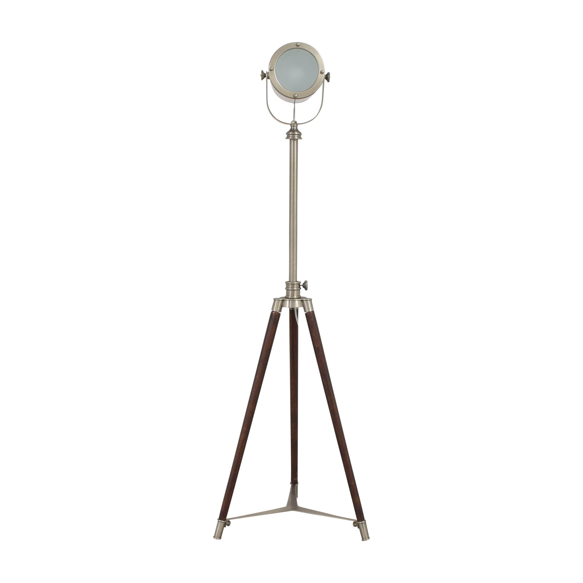 Pottery Barn Pottery Barn Photographer's Adjustable Tripod Floor Lamp pa