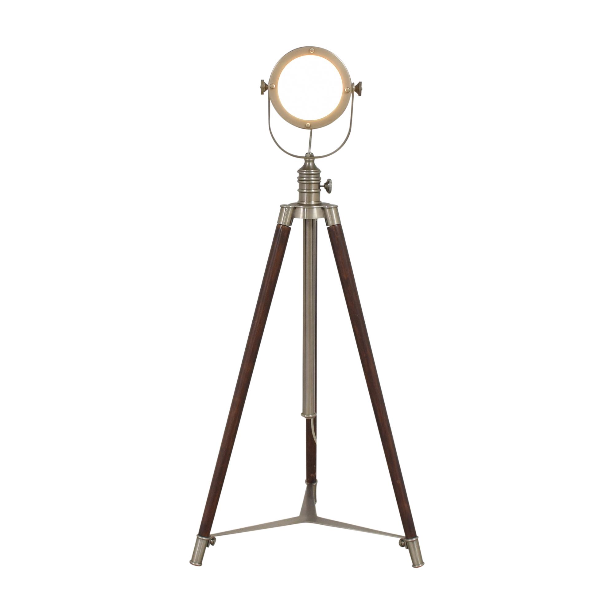 buy Pottery Barn Photographer's Adjustable Tripod Floor Lamp Pottery Barn Lamps