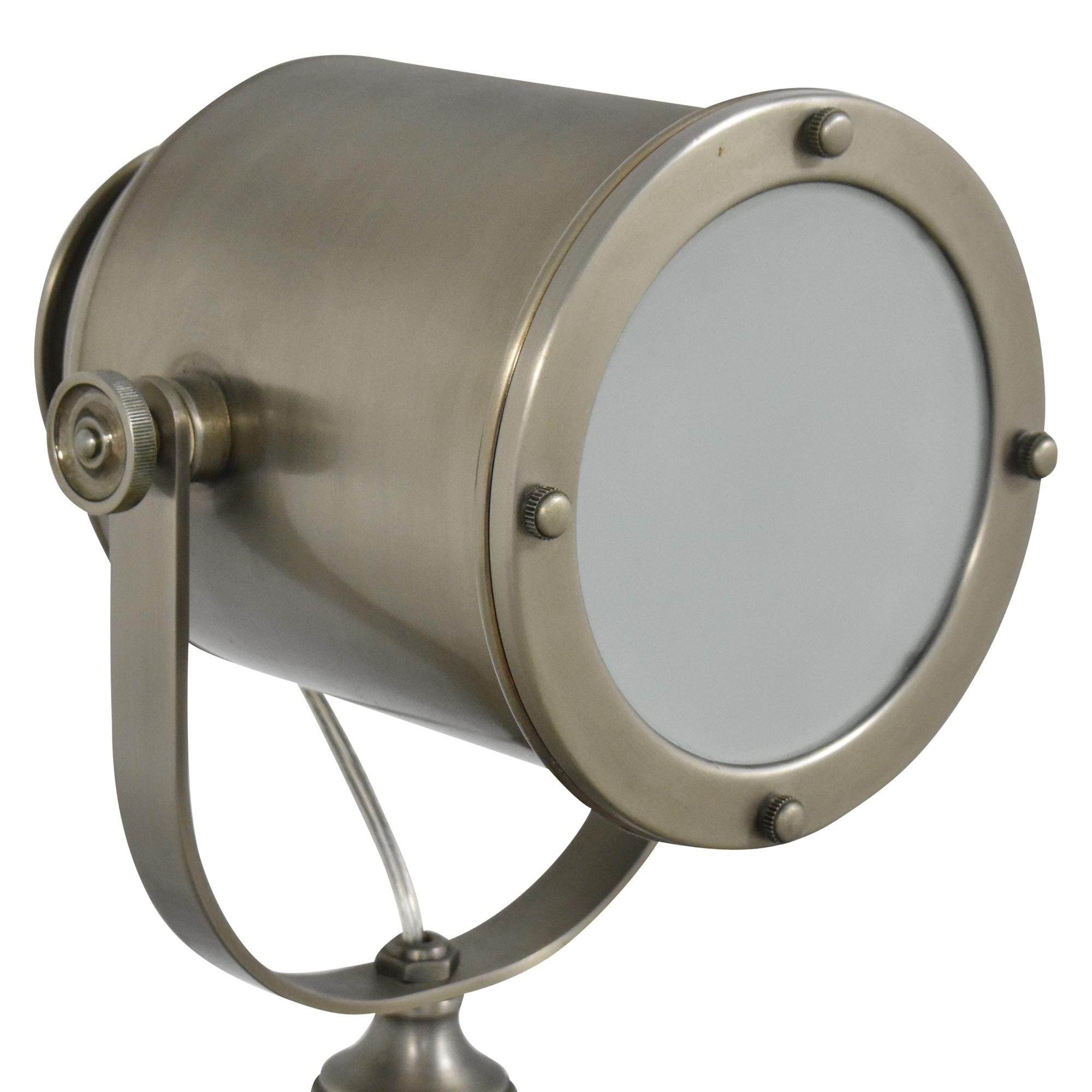 Pottery Barn Pottery Barn Photographer's Adjustable Tripod Floor Lamp nyc