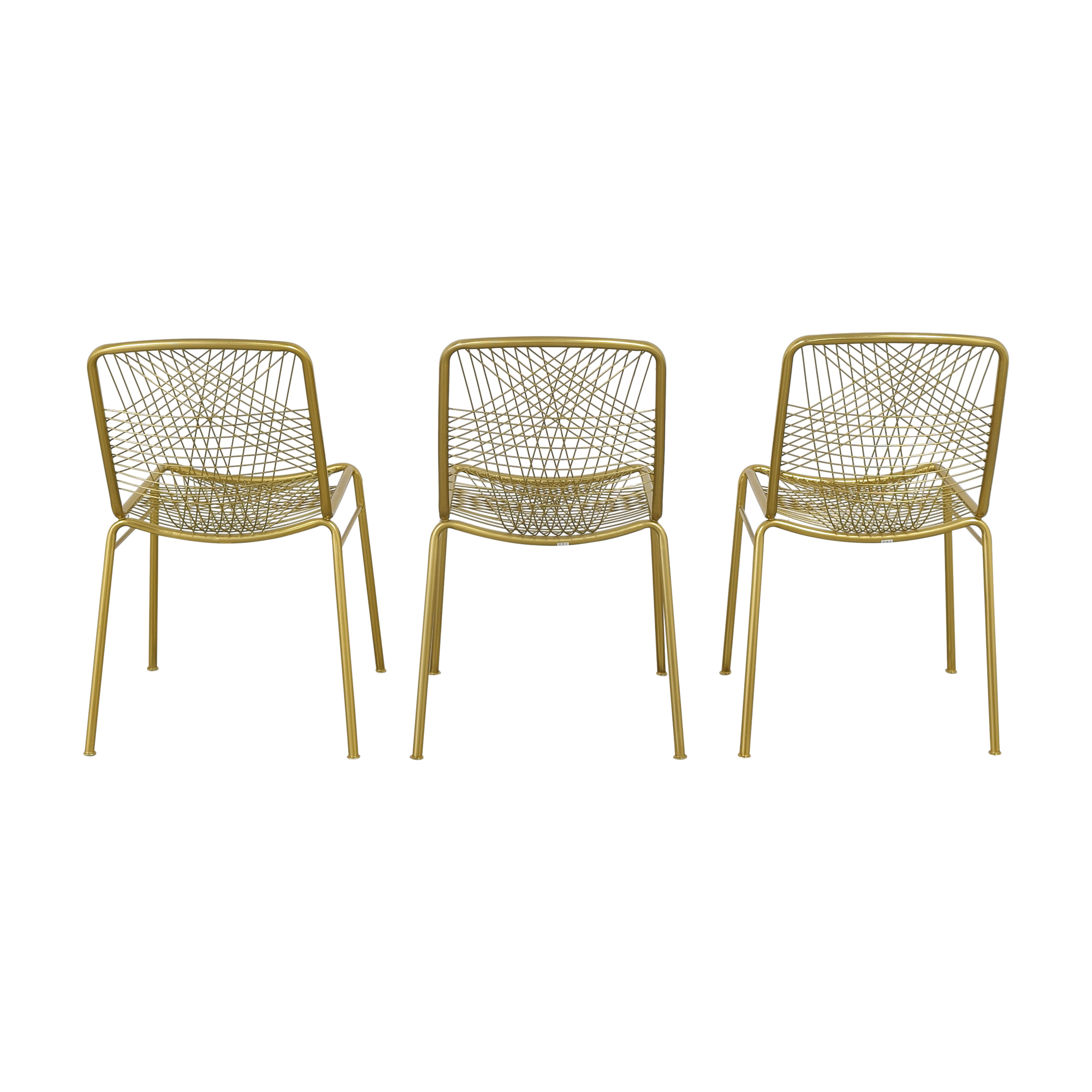 CB2 Alpha Chairs / Dining Chairs