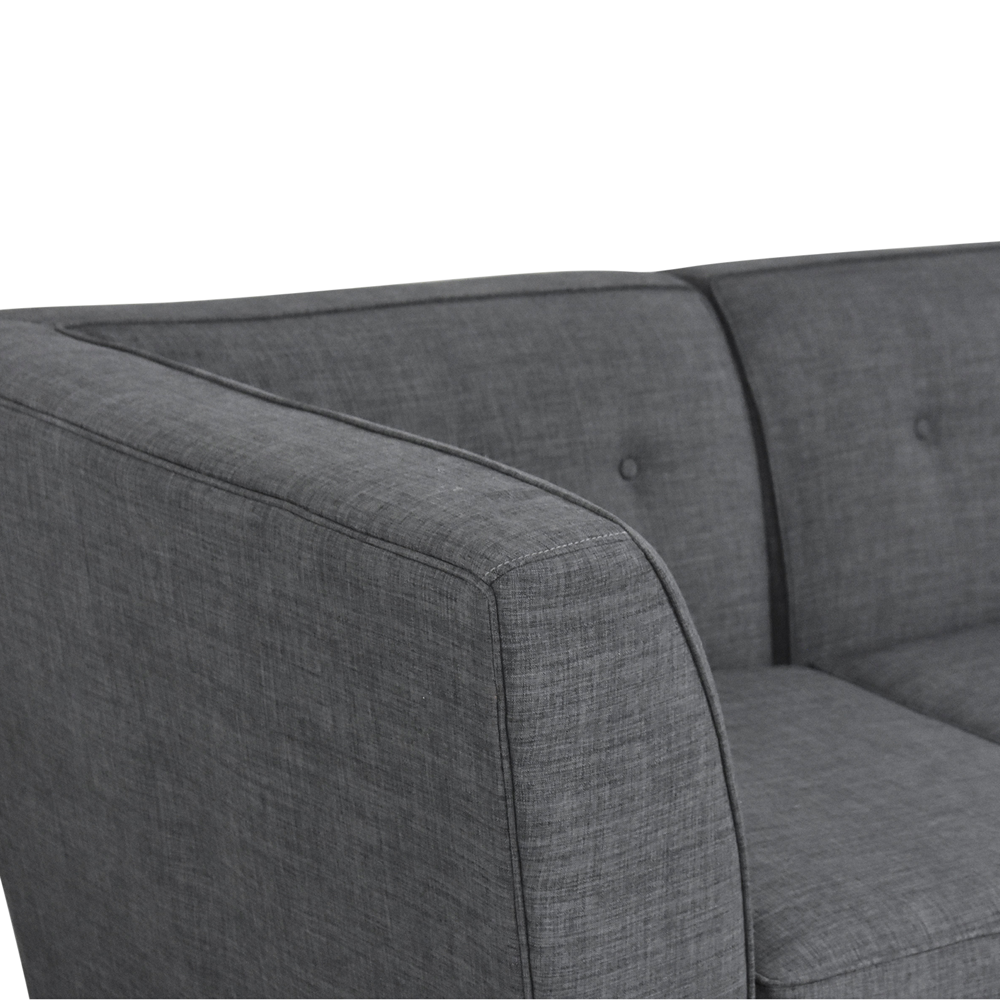 Macy's Macy's Harper Two Piece Sectional Sofa for sale