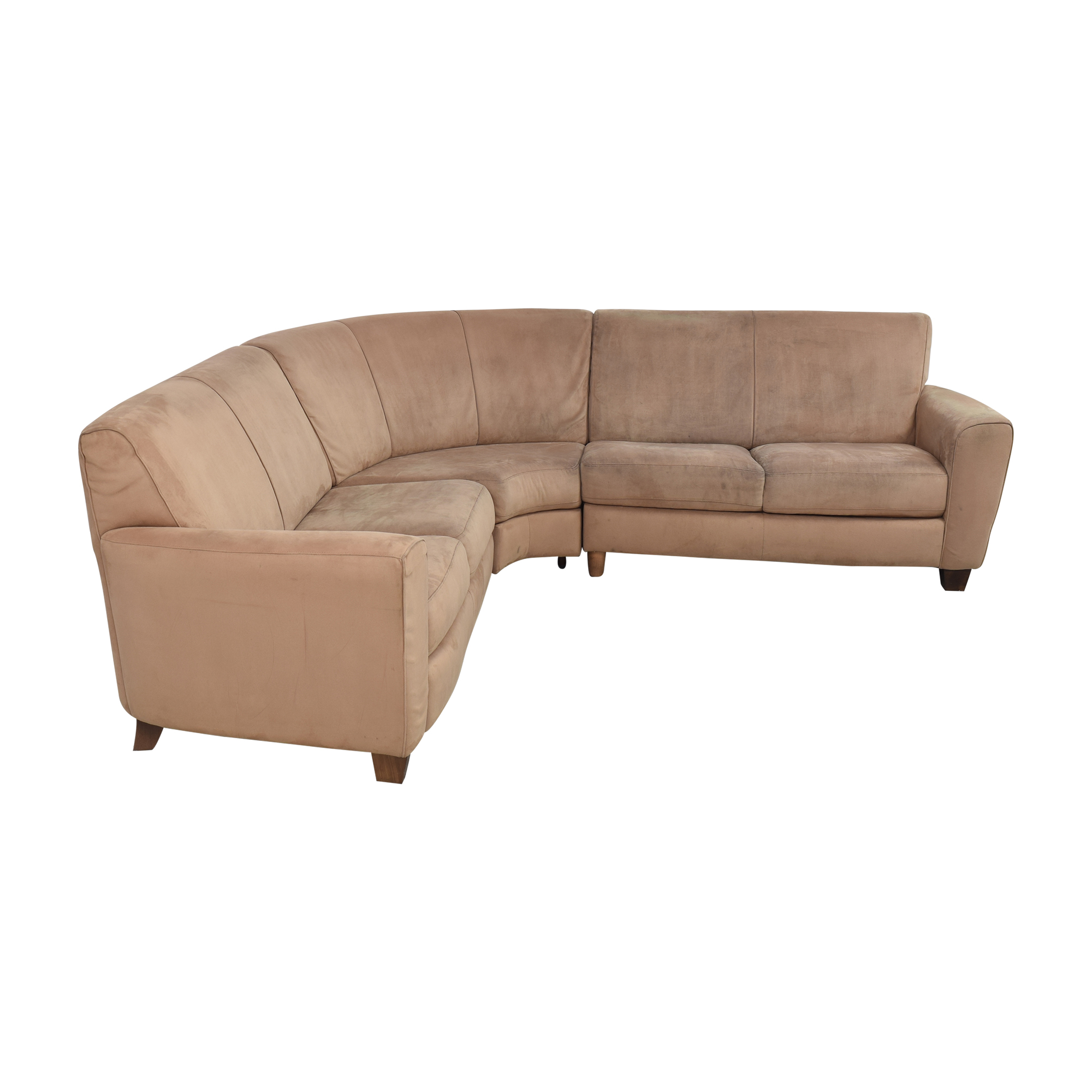 Natuzzi Natuzzi Corner Sectional Sofa discount