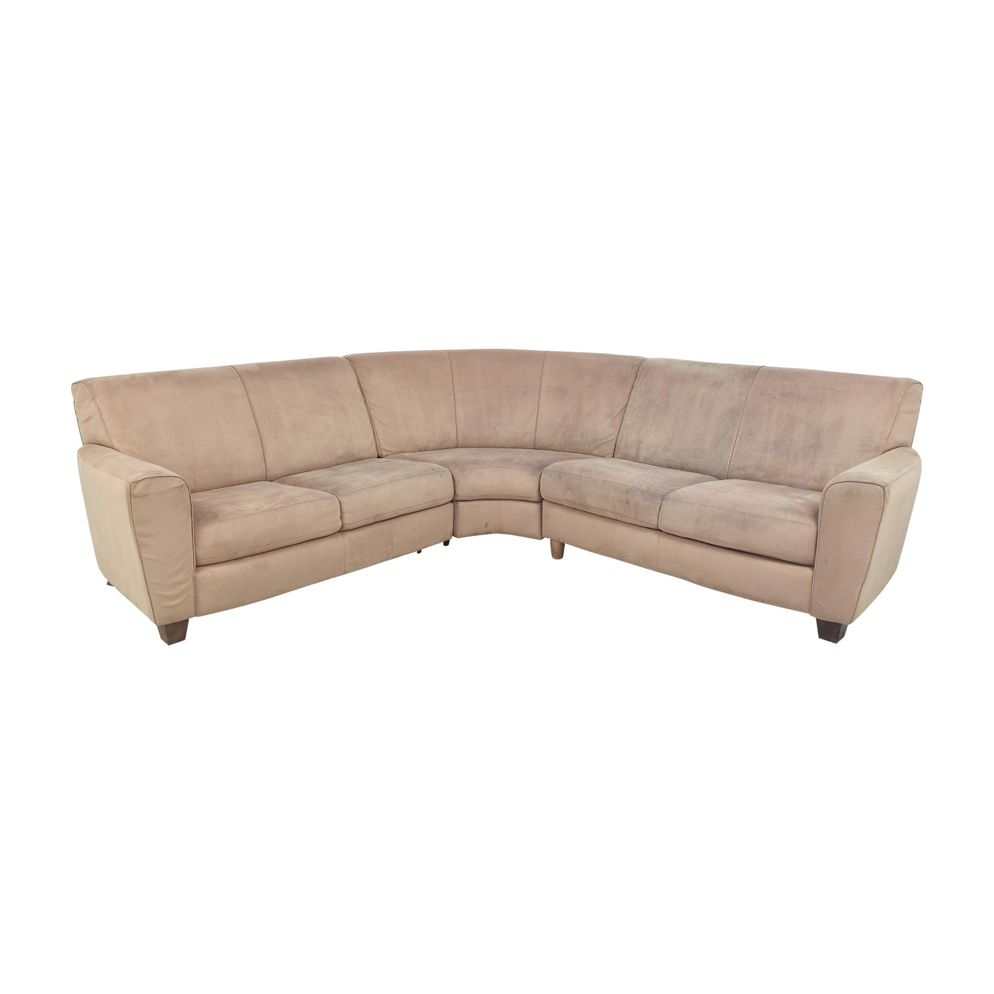Natuzzi Natuzzi Corner Sectional Sofa on sale