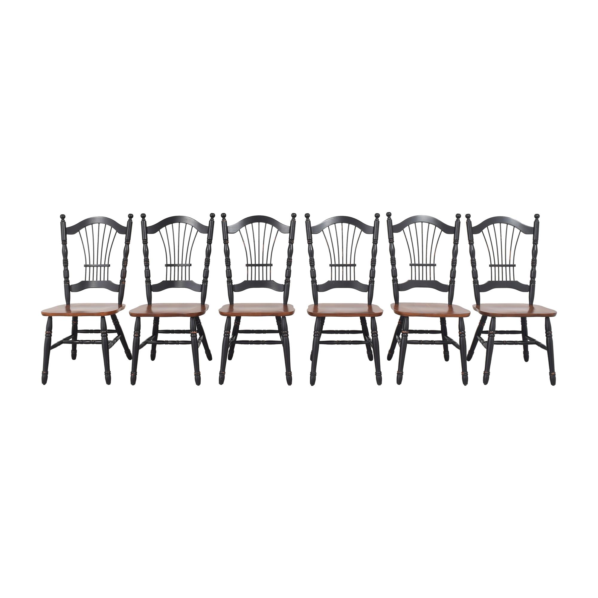 Bermex Bermex Wheat Back Dining Side Chairs dimensions