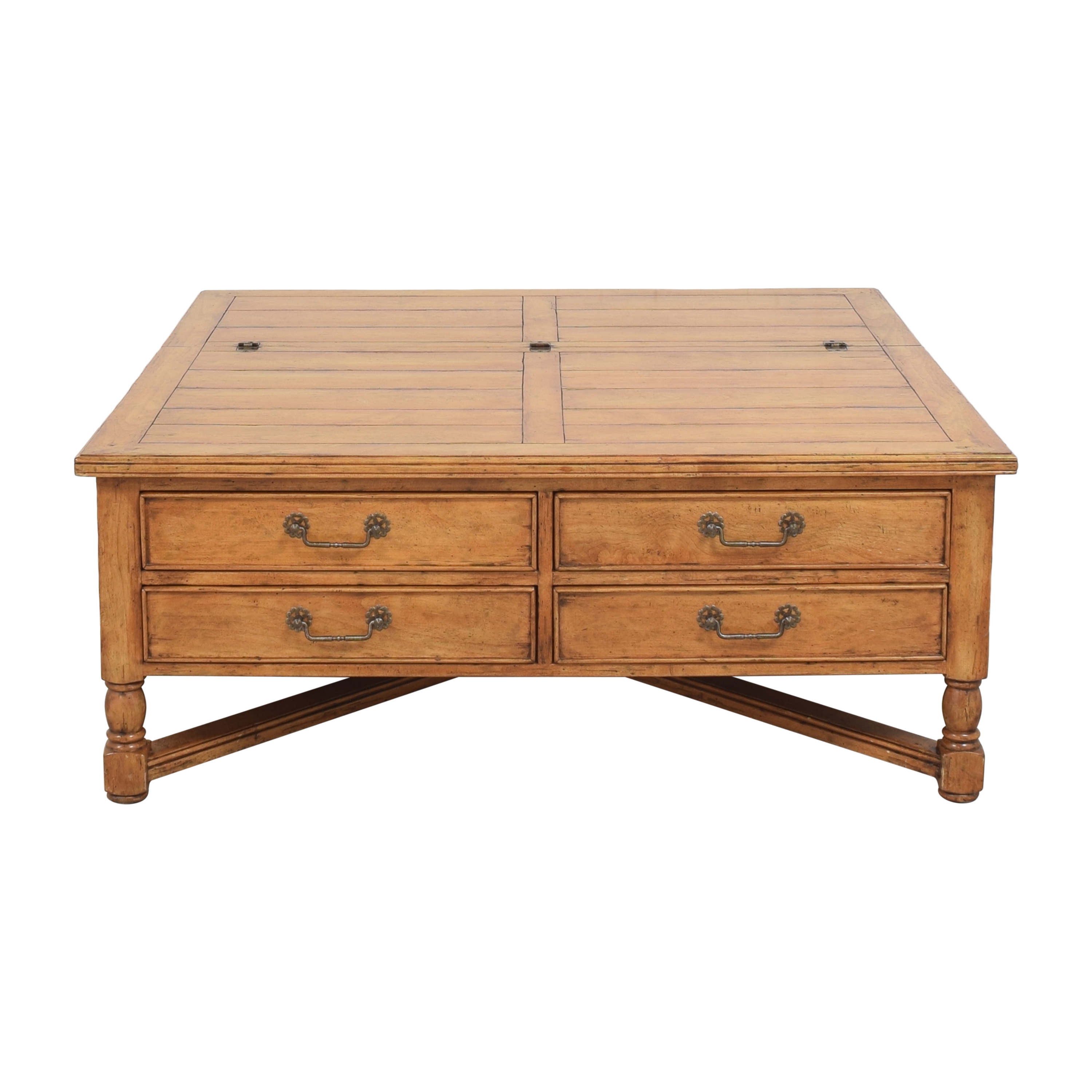 Bausman Square Storage Coffee Table / Tables