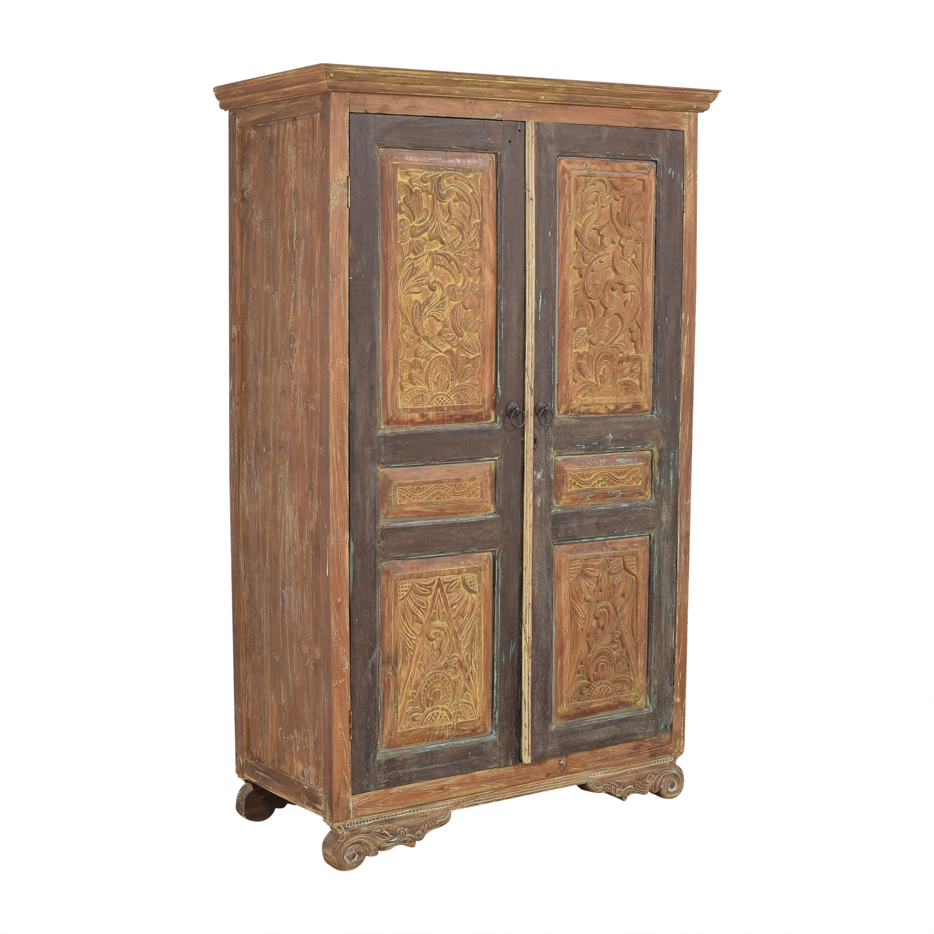 Rustic Vintage-Style Armoire Wardrobes & Armoires