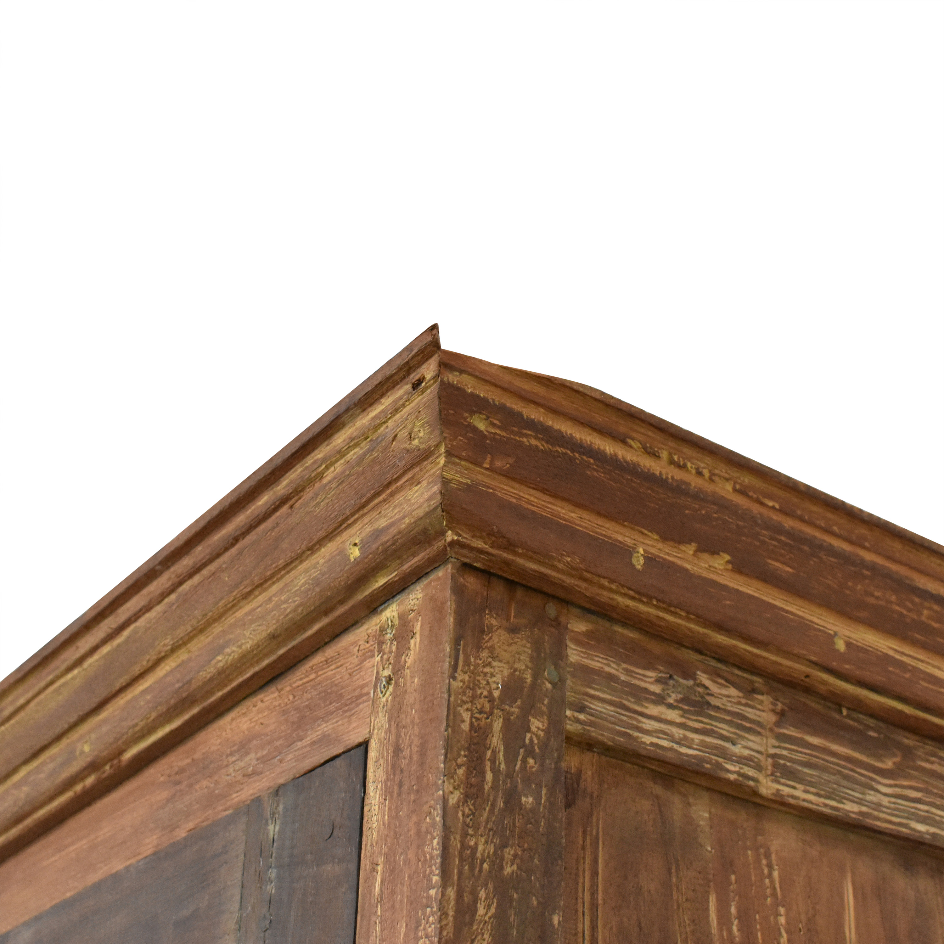 Rustic Vintage-Style Armoire