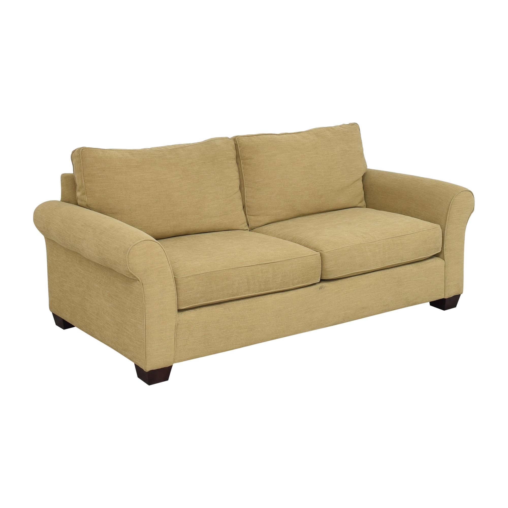 Pottery Barn Pottery Barn Comfort Roll Arm Sofa on sale