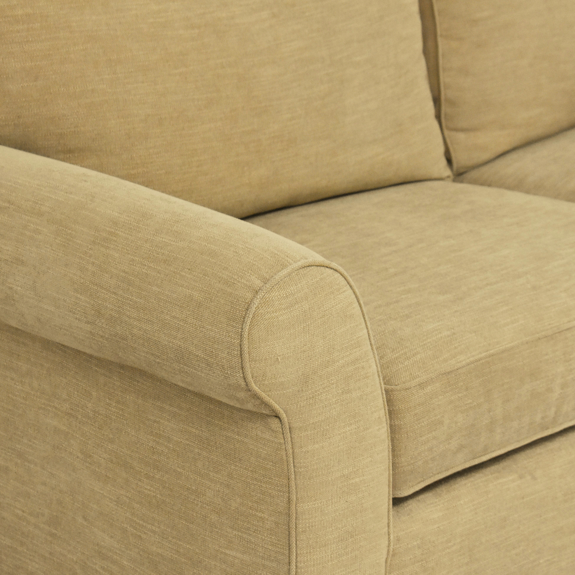 Pottery Barn Pottery Barn Comfort Roll Arm Sofa Sofas