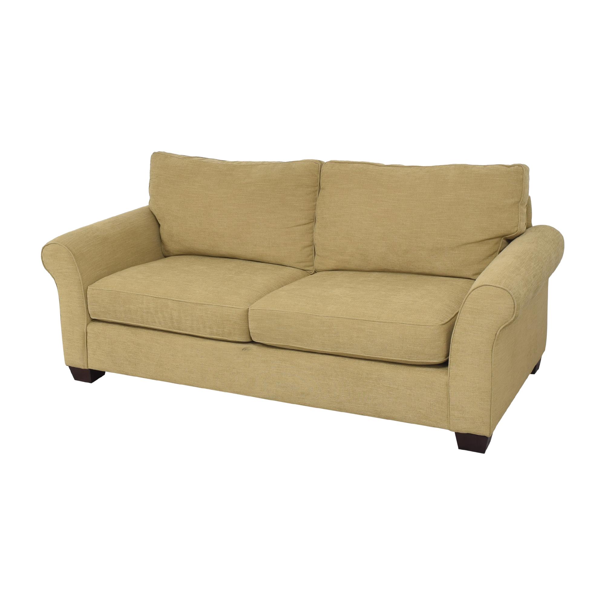Pottery Barn Pottery Barn Comfort Roll Arm Sofa for sale