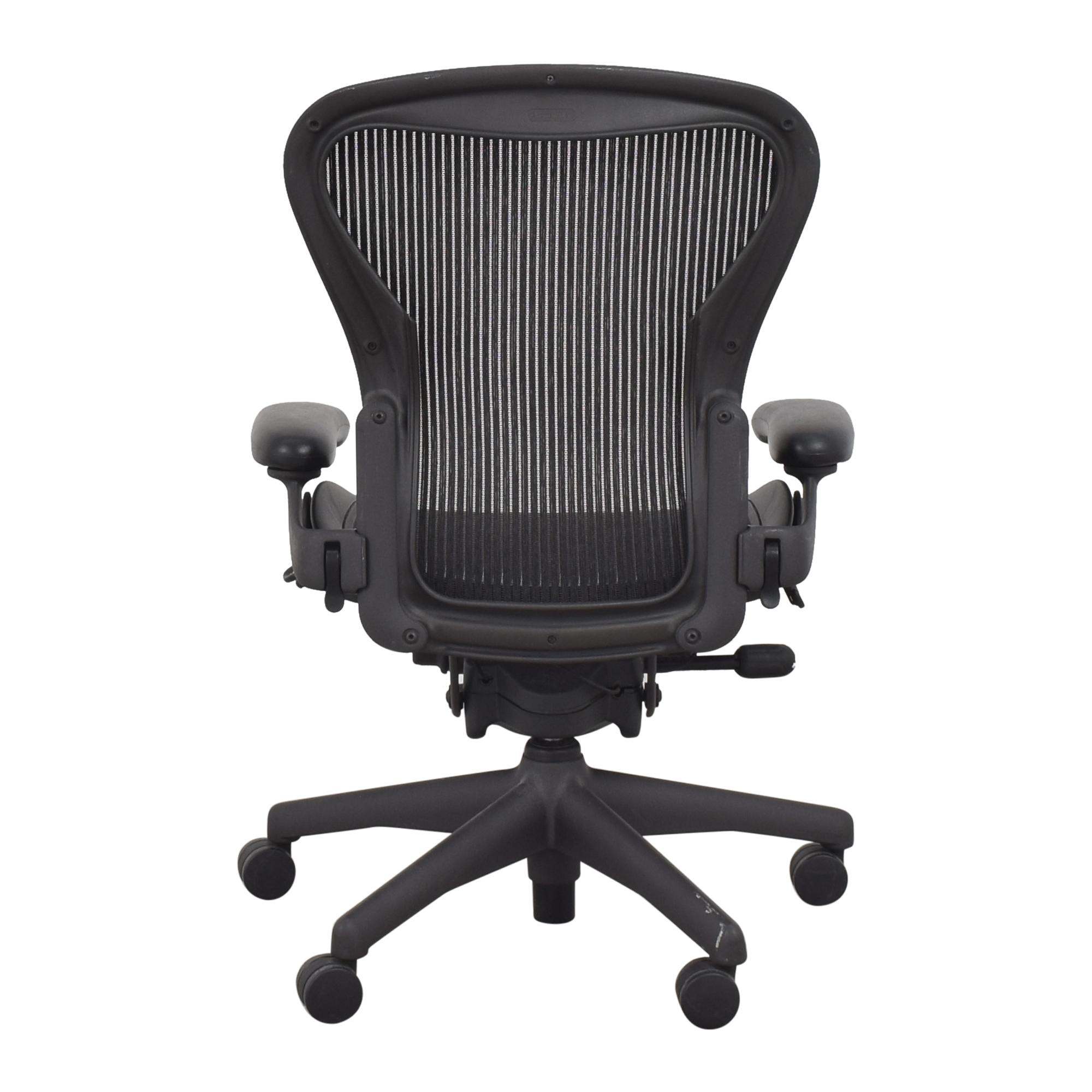 Herman Miller Herman Miller Size B Aeron Chair pa