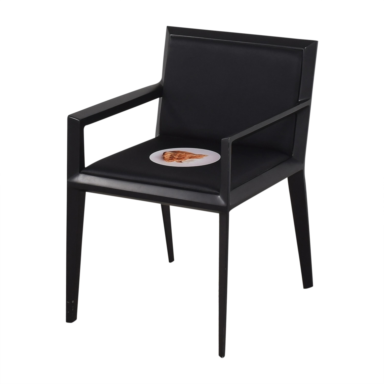 buy Bernhardt Custom Graphic Whisper Arm Chairs Bernhardt Dining Chairs