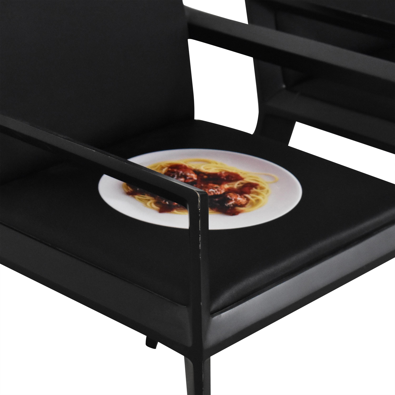Bernhardt Bernhardt Custom Graphic Whisper Arm Chairs dimensions