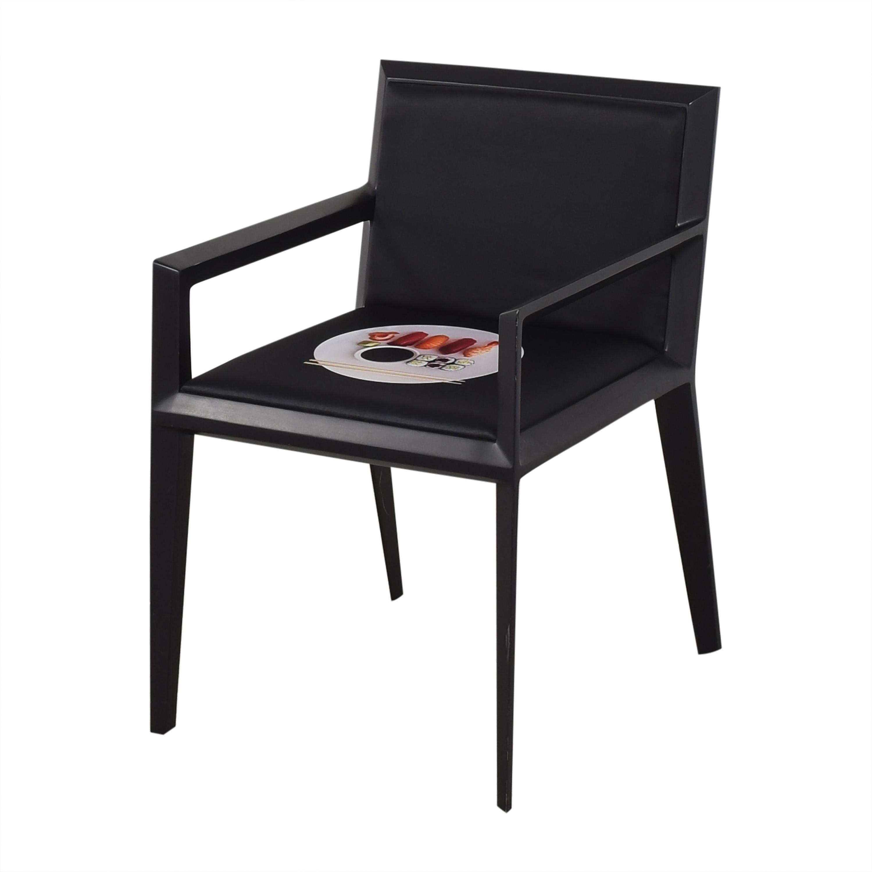 Bernhardt Bernhardt Custom Graphic Whisper Arm Chairs multi