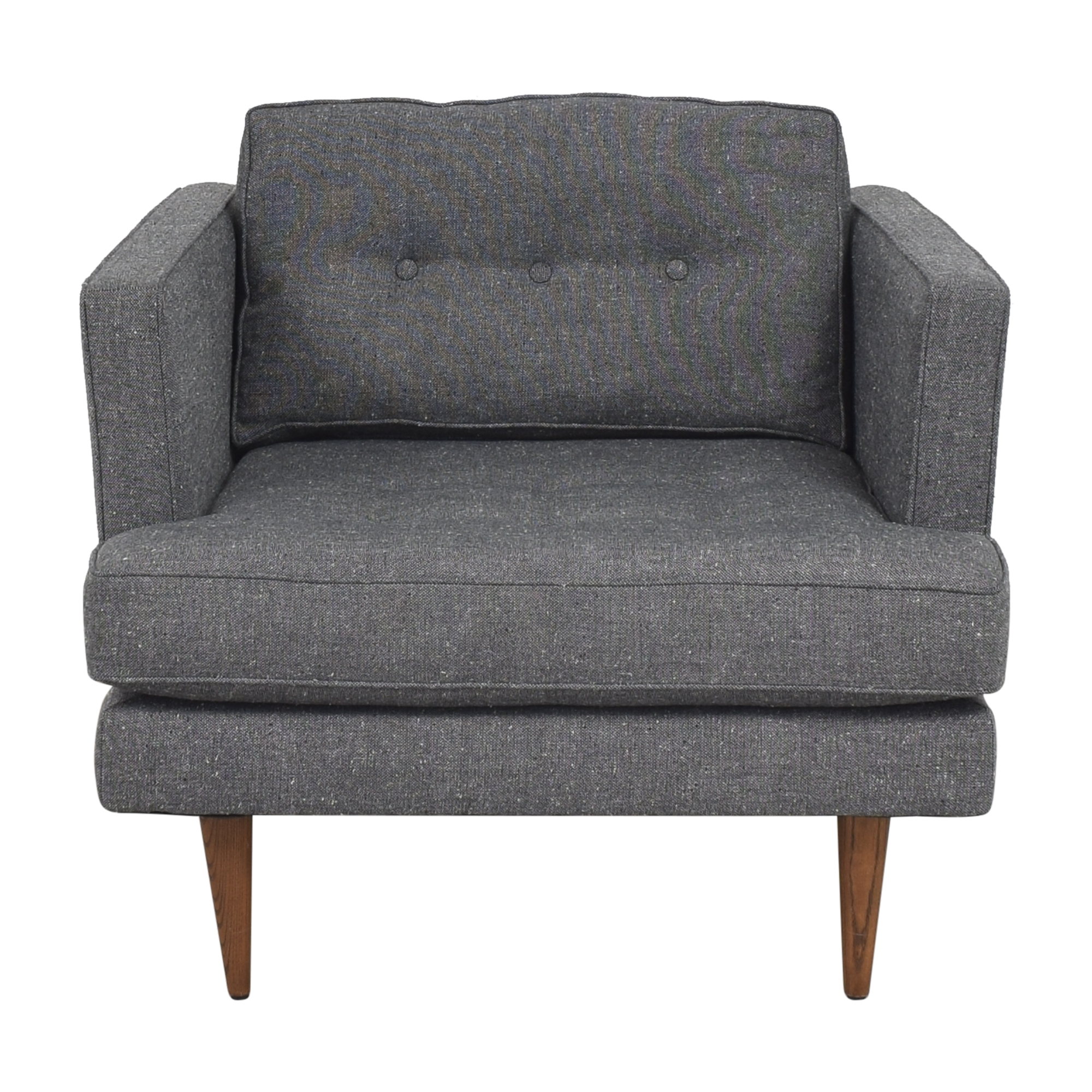 buy West Elm Peggy Mid-Century Armchair West Elm Accent Chairs