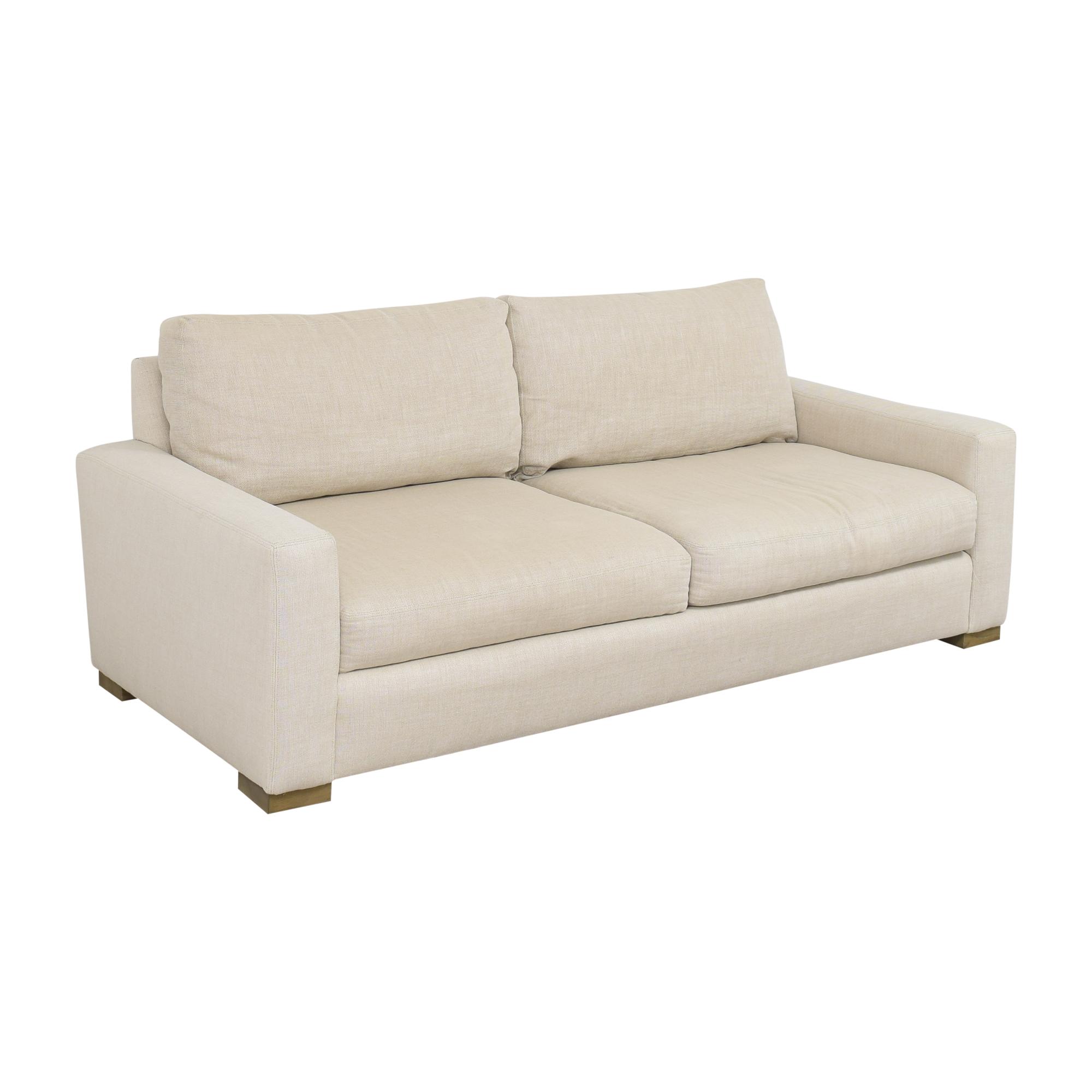 Restoration Hardware Restoration Hardware Two Cushion Sofa ma