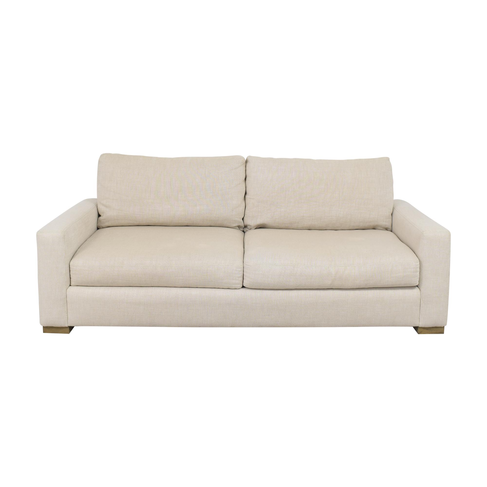 Restoration Hardware Restoration Hardware Two Cushion Sofa price