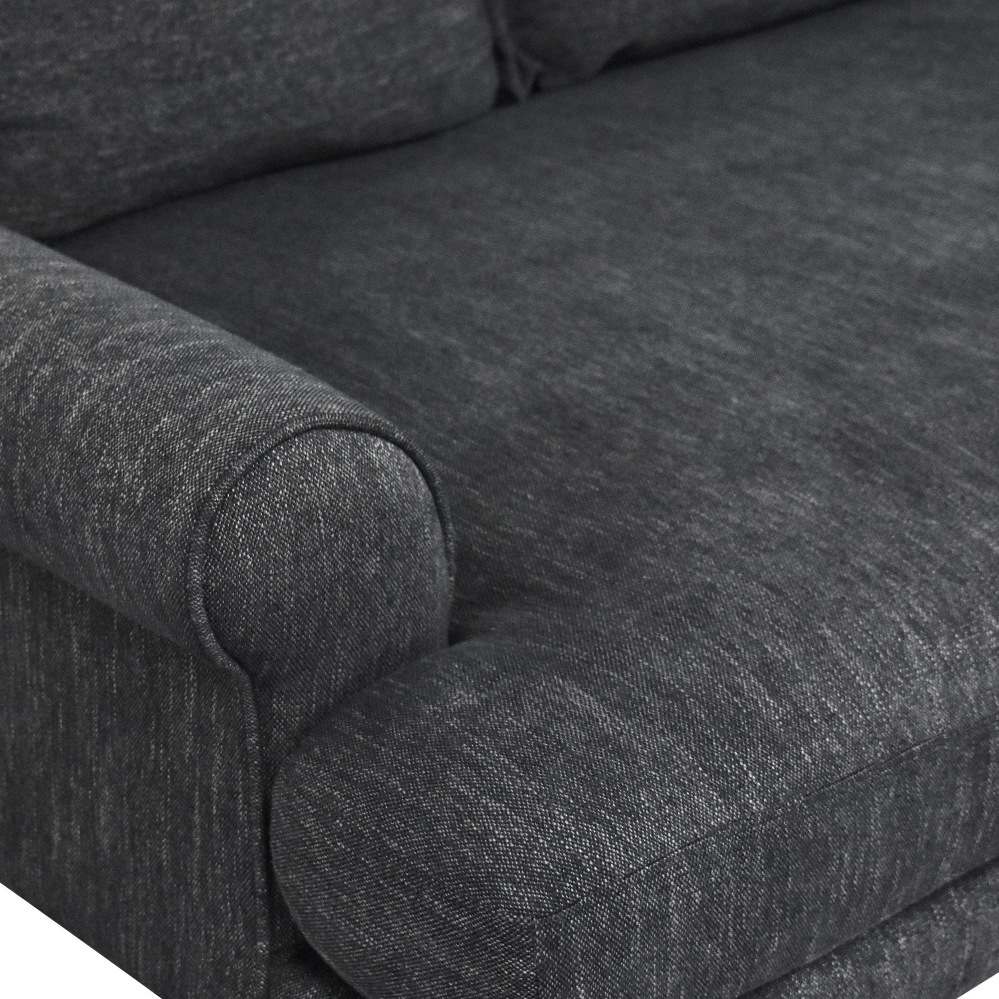 Interior Define Interior Define Maxwell Bench Cushion Sofa coupon