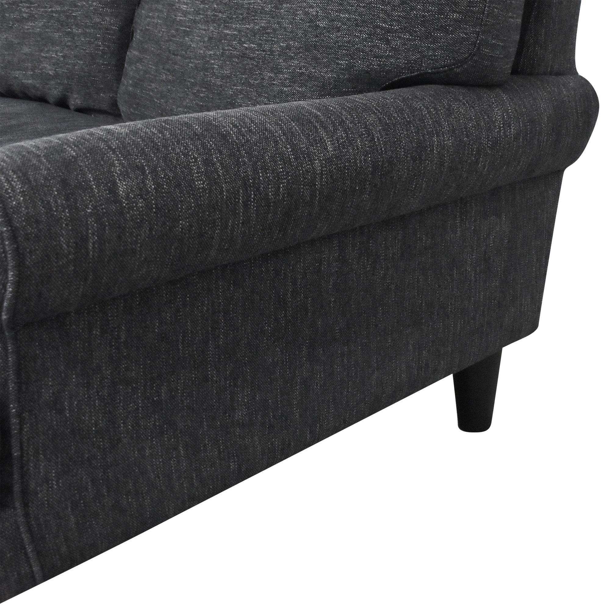 Interior Define Interior Define Maxwell Bench Cushion Sofa used