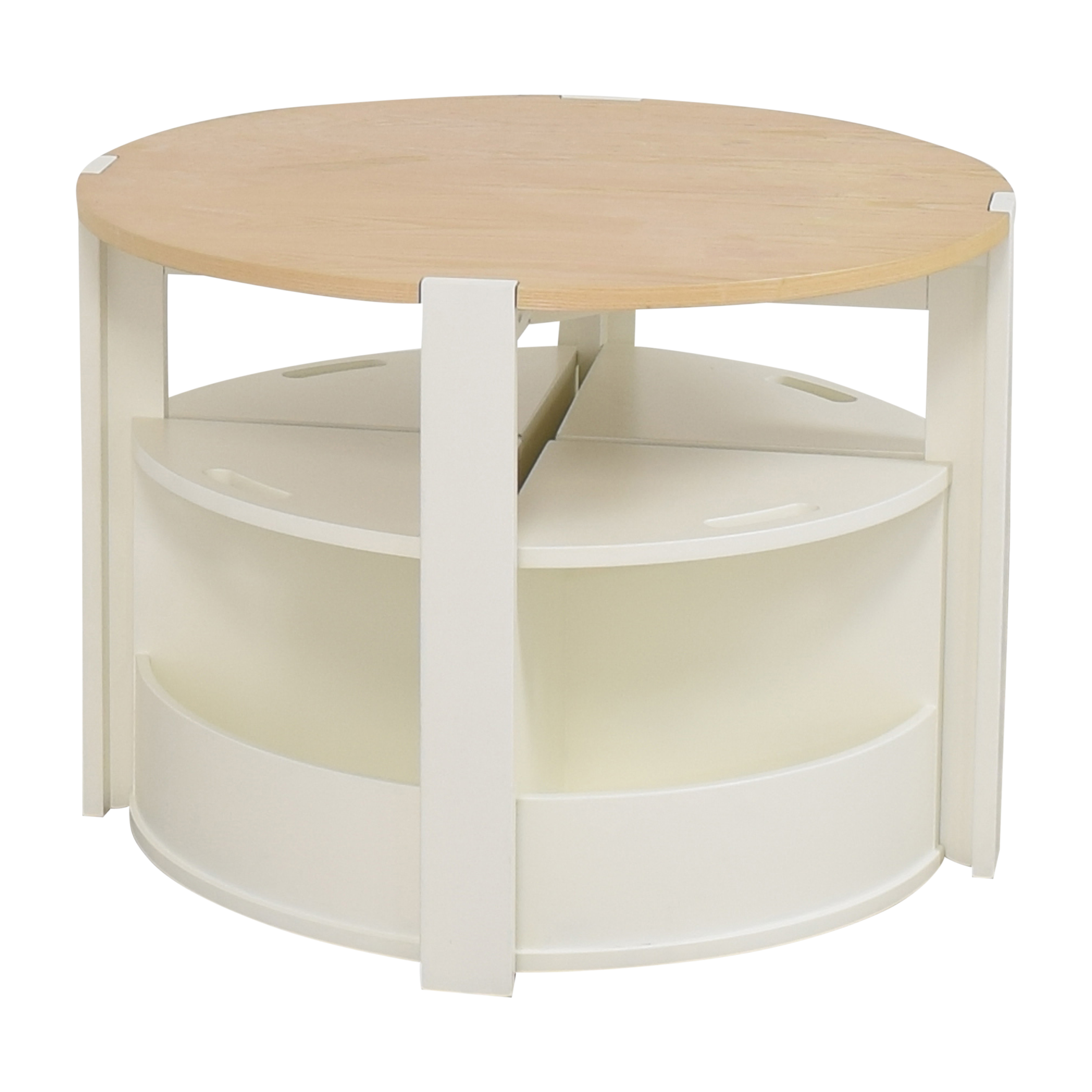 Crate & Barrel Nesting Play Table and Chairs Crate & Barrel
