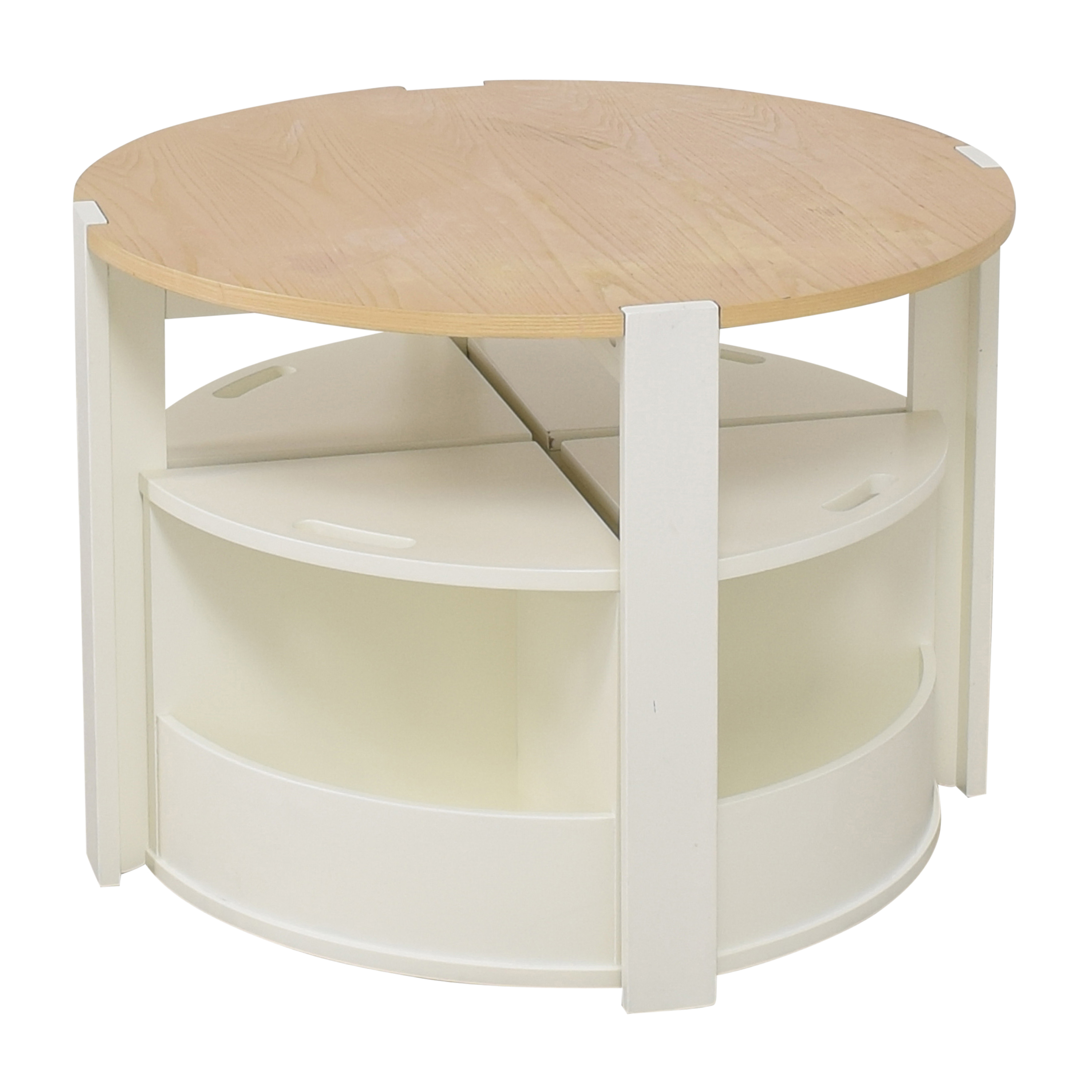 Crate & Barrel Crate & Barrel Nesting Play Table and Chairs pa