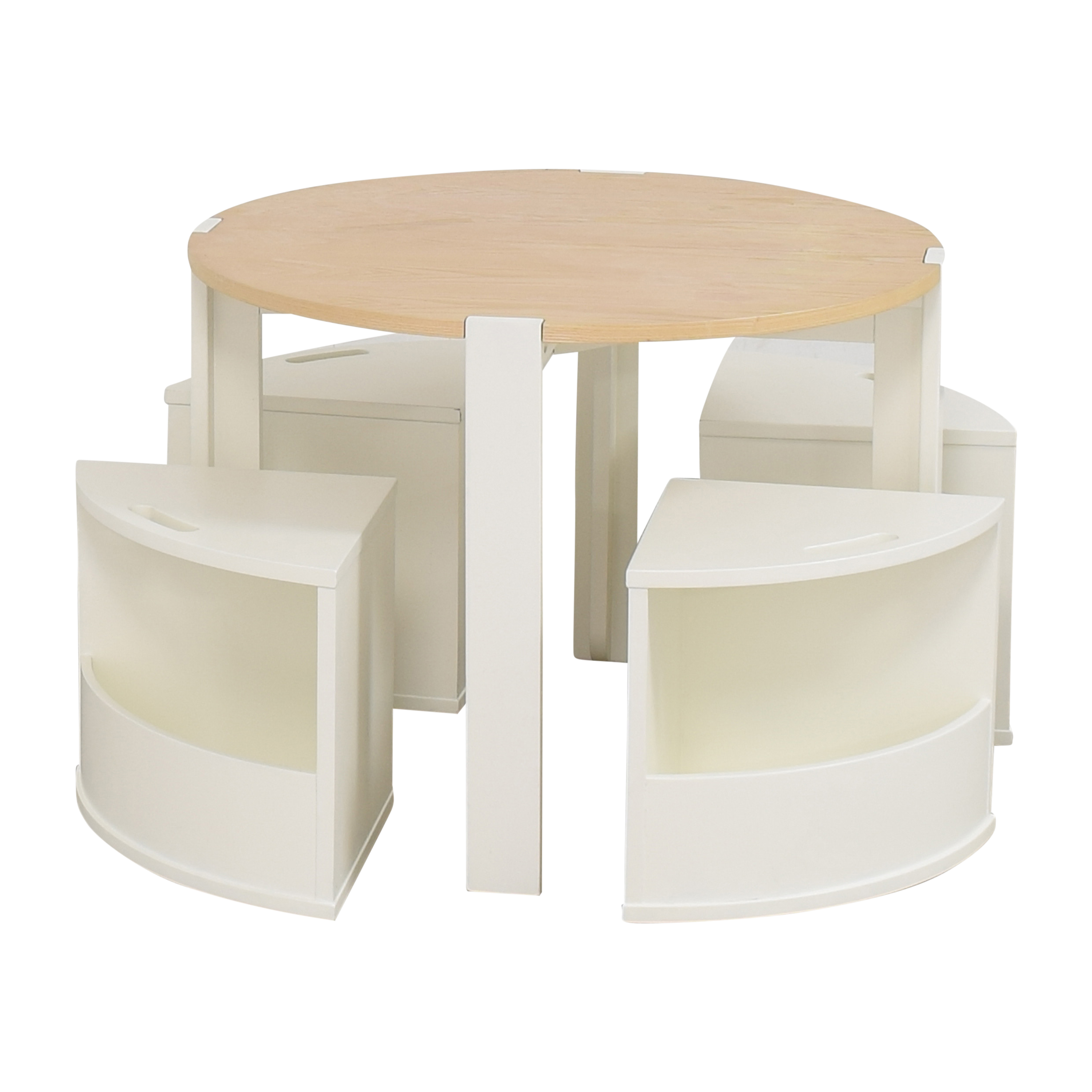 Crate & Barrel Crate & Barrel Nesting Play Table and Chairs on sale