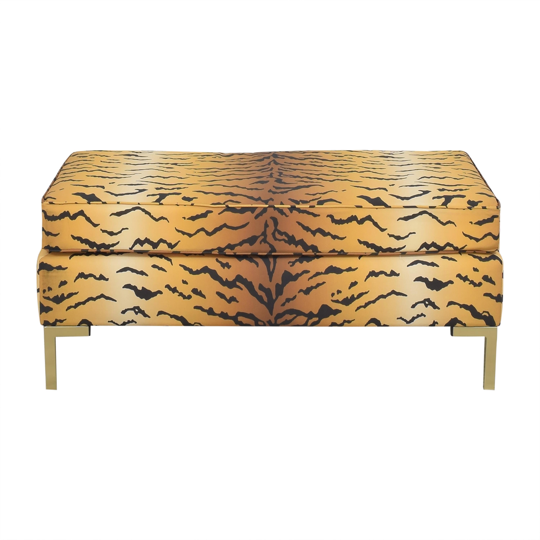buy The Inside Tawny Tiger Modern Bench The Inside