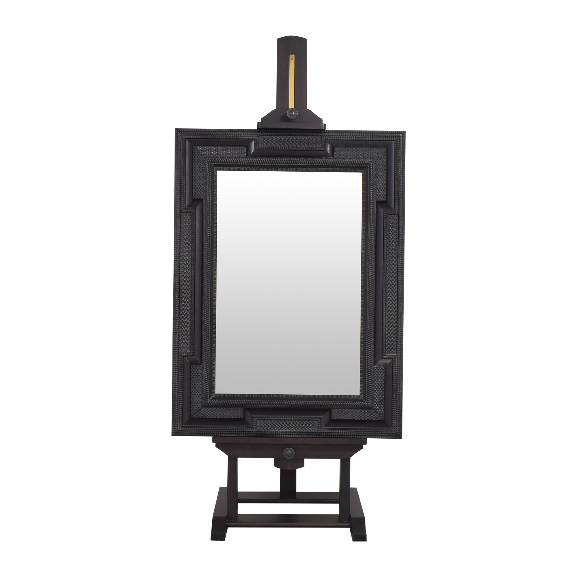 Restoration Hardware Restoration Hardware Mirror with Easel pa