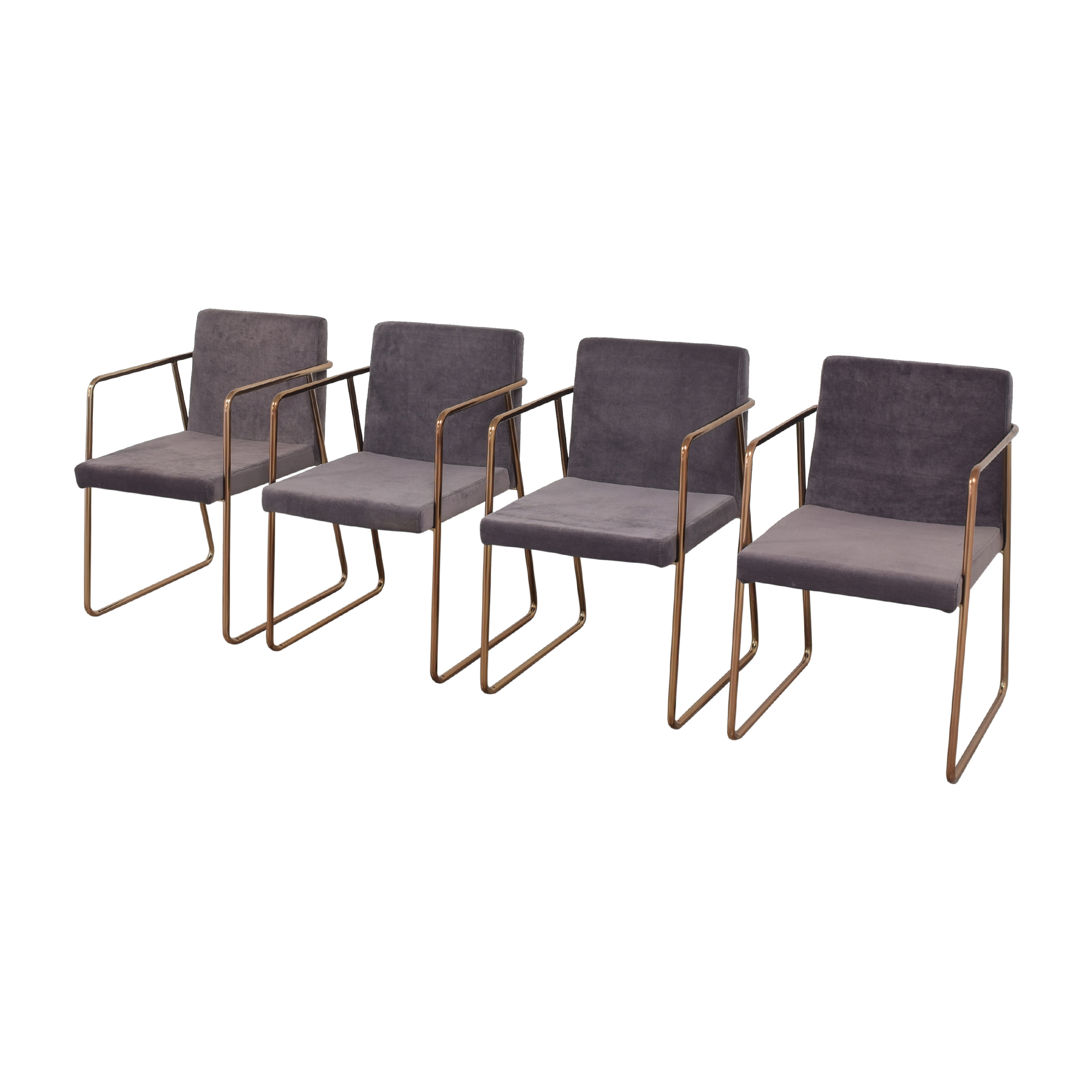 CB2 Rouka Chairs / Dining Chairs