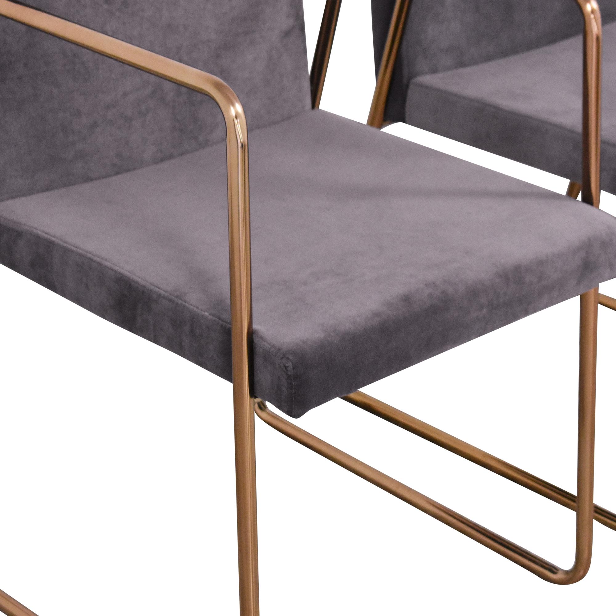 CB2 CB2 Rouka Chairs on sale