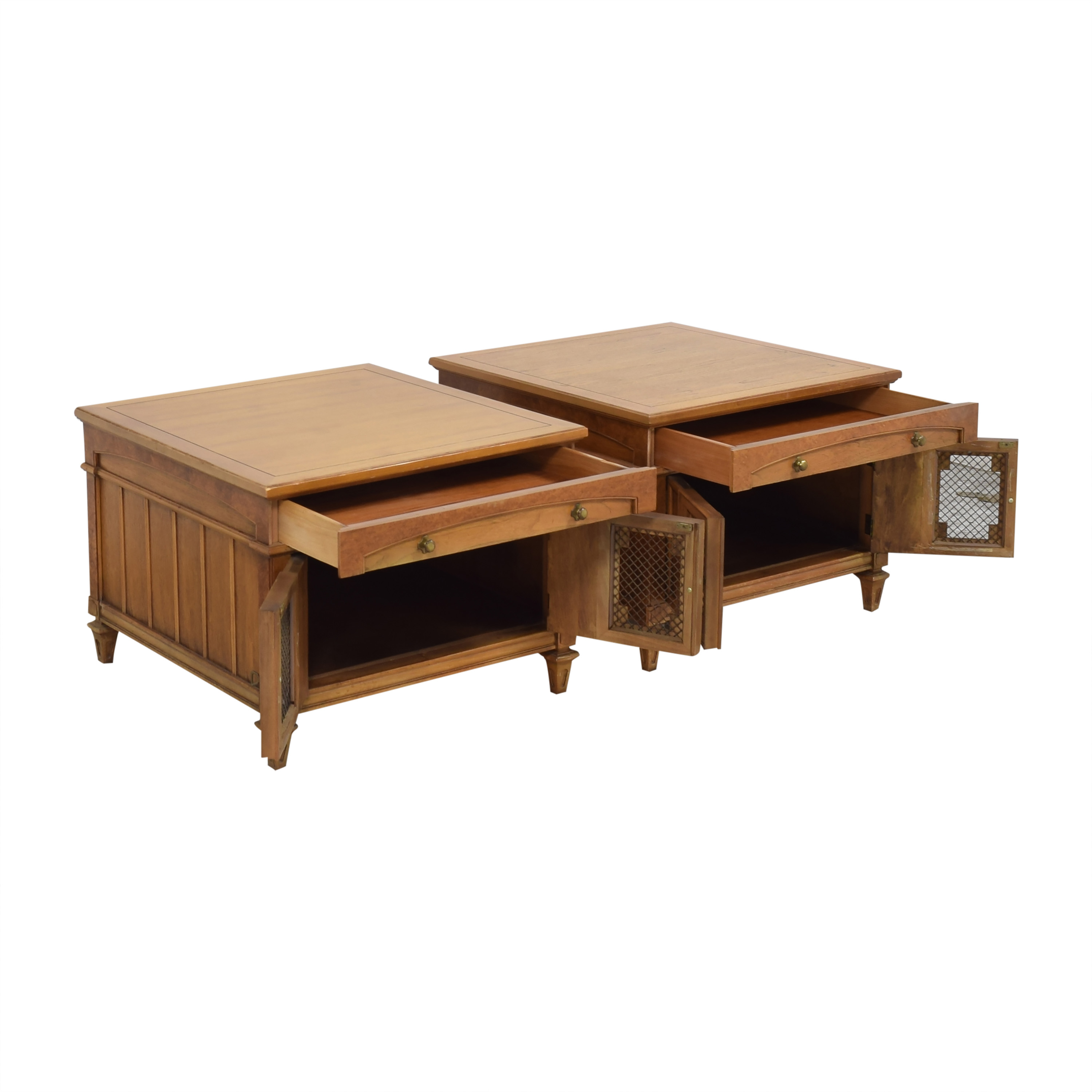 Thomasville Thomasville Two Door End Tables used