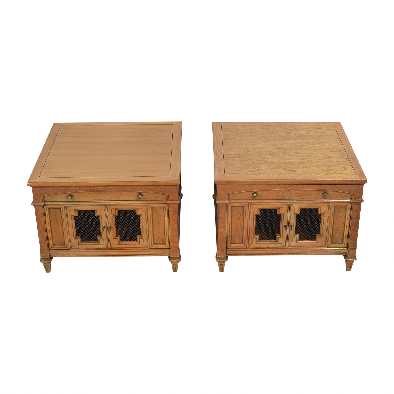 Thomasville Thomasville Two Door End Tables on sale