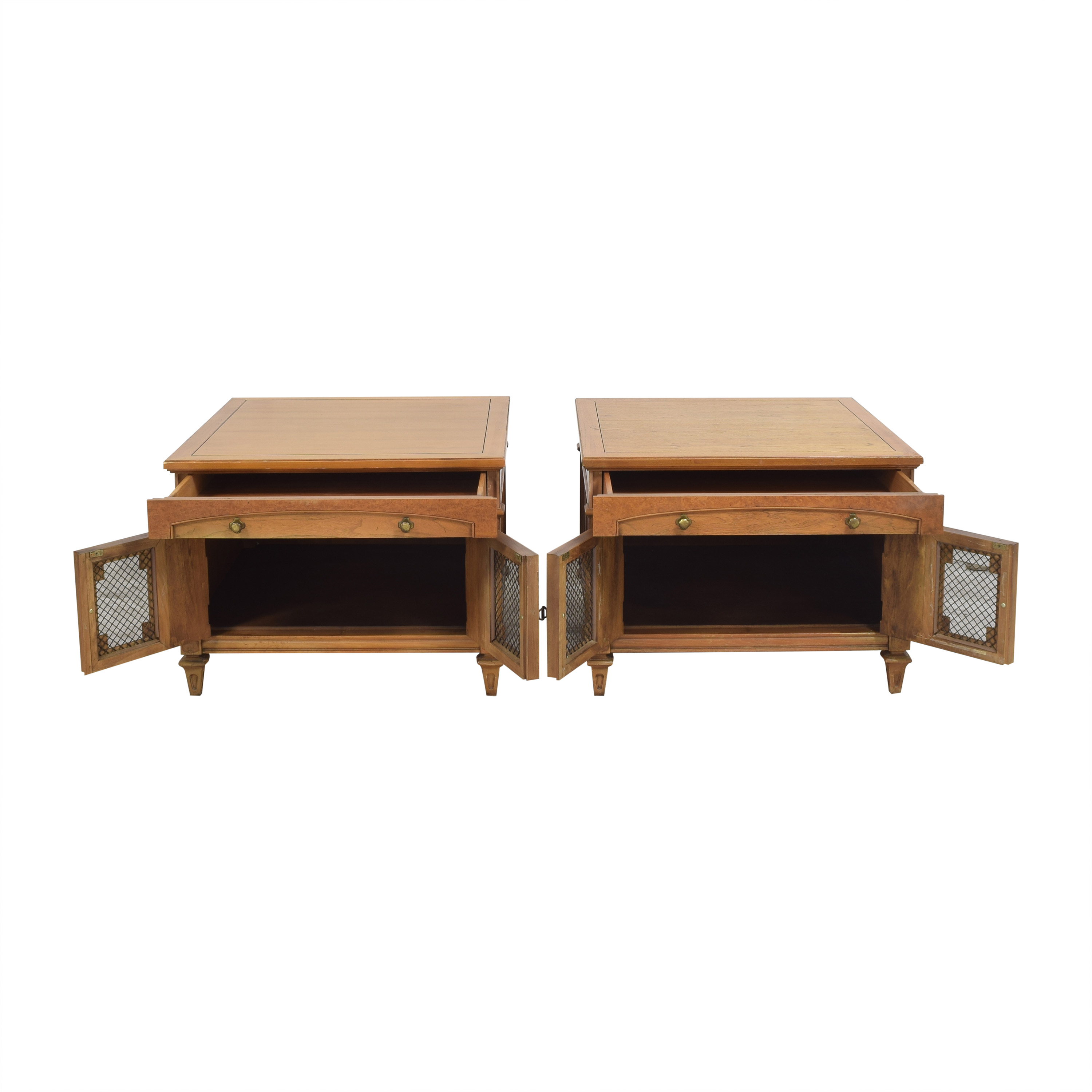 Thomasville Thomasville Two Door End Tables for sale