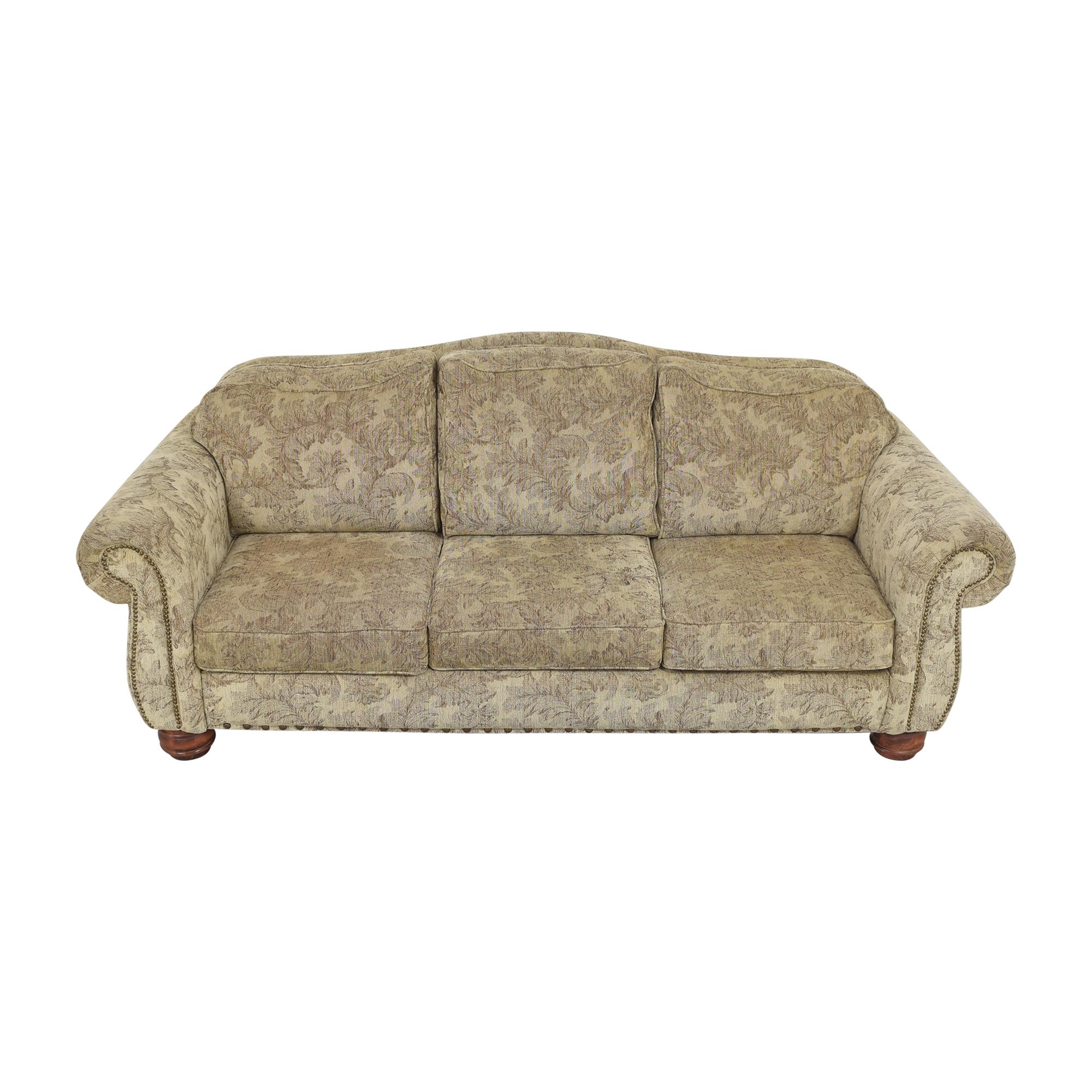Jackson Furniture Jackson Furniture Roll Arm Nailhead Sofa for sale