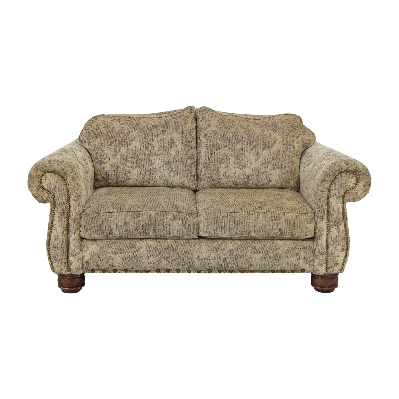 Jackson Furniture Jackson Furniture Roll Arm Nailhead Loveseat nj