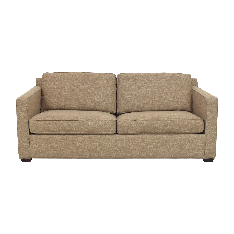 Crate & Barrel Crate & Barrel Barrett Sleeper Sofa Sofas