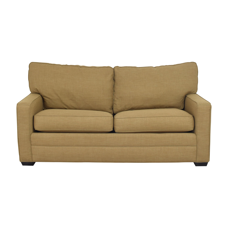 buy Crate & Barrel Barrett Sleeper Sofa Crate & Barrel