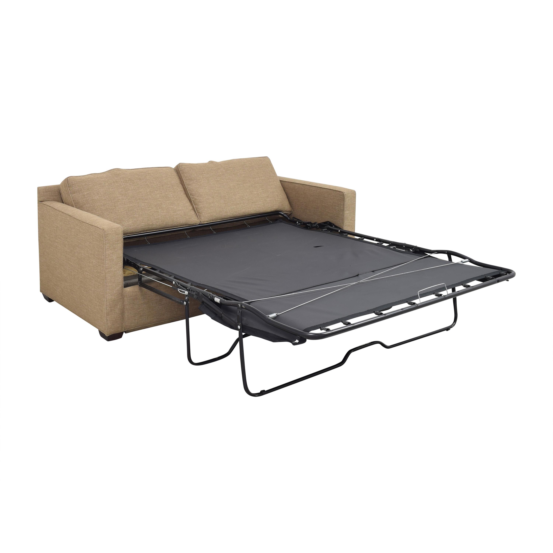 buy Crate & Barrel Barrett Sleeper Sofa Crate & Barrel Sofa Beds