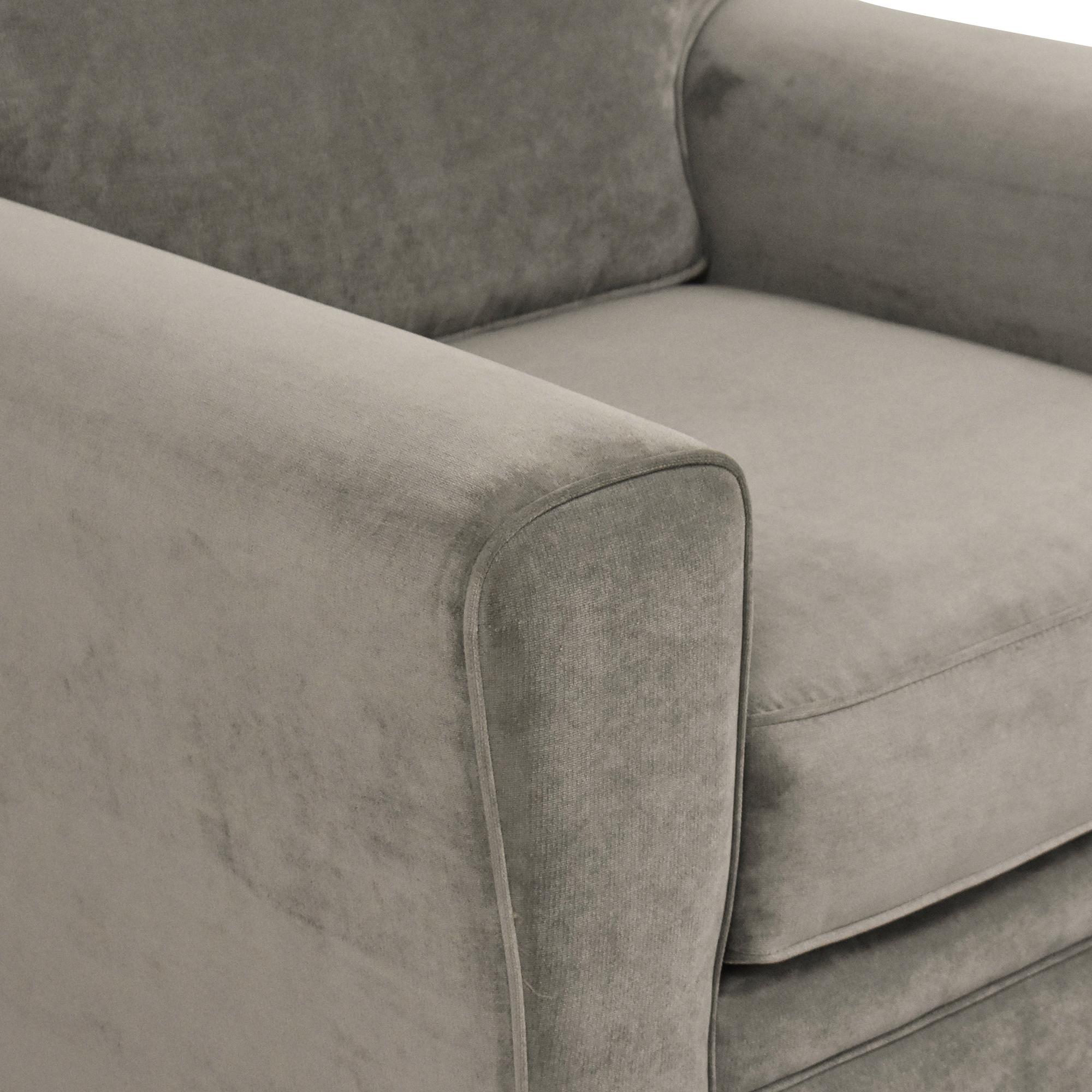 shop Raymour & Flanigan  Artemis II Track Arm Chair Raymour & Flanigan Sofas